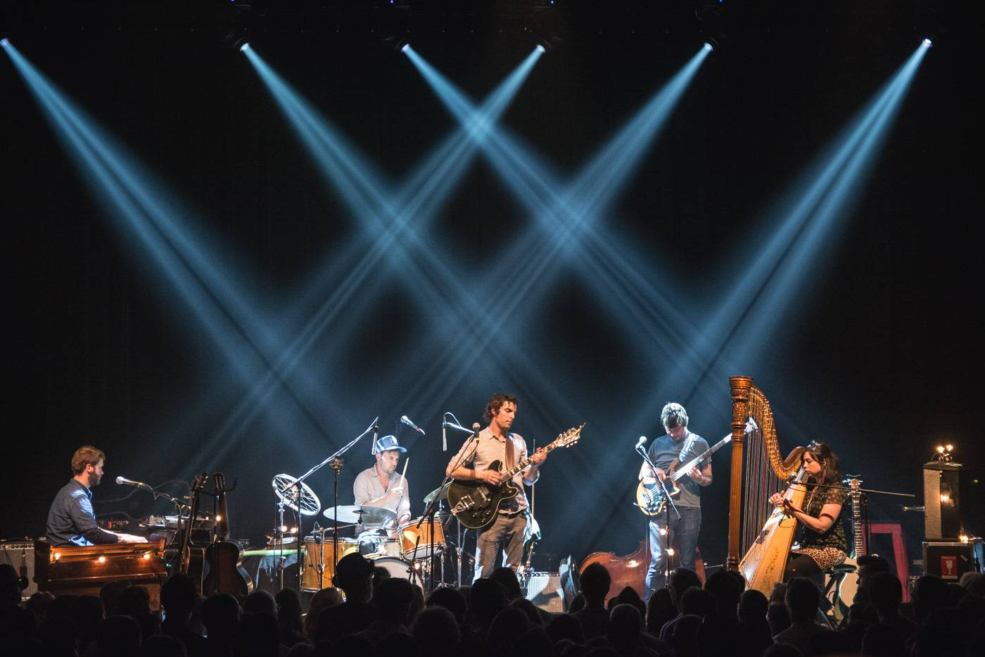 Barr Brothers at the Imperial Theatre, Vancouver, May 29 2015. Pavel Boiko photo.