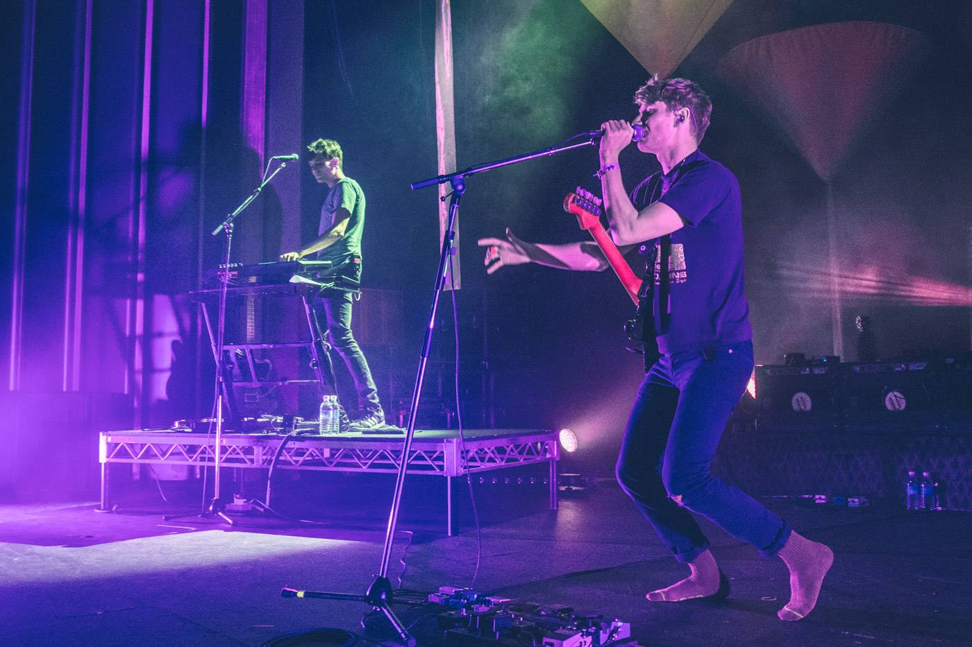Glass Animals at the Vogue Theatre, Vancouver, May 25 2015. Pavel Boiko photo.