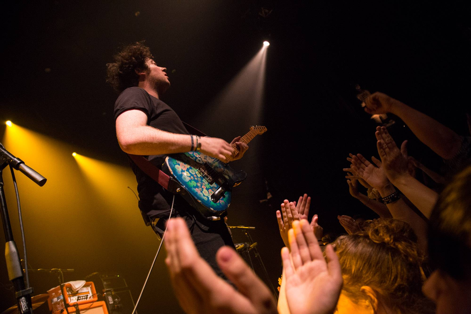 The Wombats at the Imperial Theatre, Vancouver, May 20 2015. Kirk Chantraine photo.