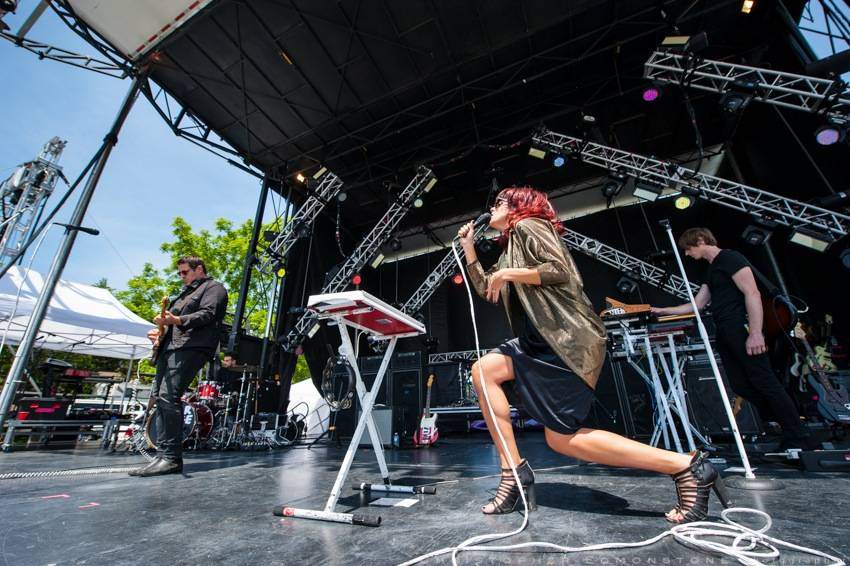 Dear Rouge at Sound of Music Fest, Burlington Ontario, June 20 2015. Christopher Edmonstone photo.