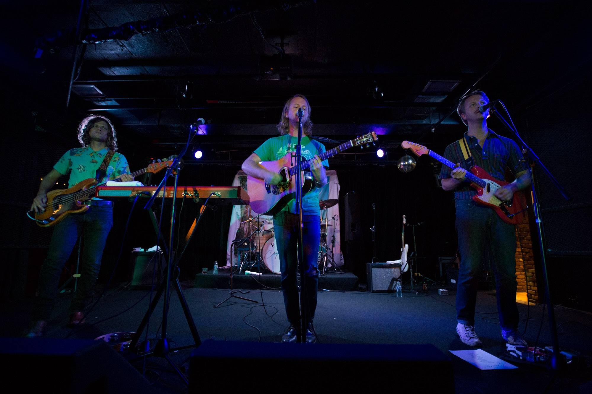 Cayucas at the Biltmore Cabaret, Vancouver, Aug 20 2015. Kirk Chantraine photo.