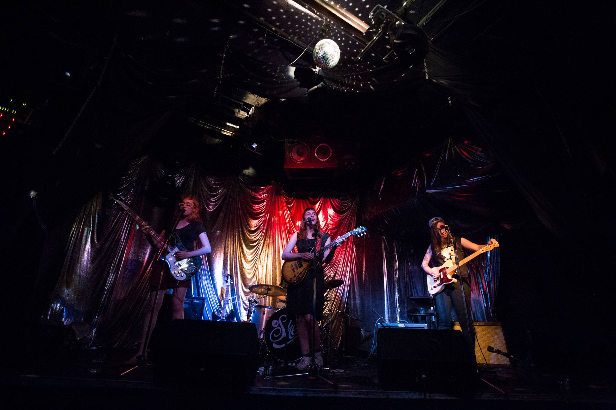 The She's at the Hindenburg, Vancouver, Aug 3 2015. Kirk Chantraine photo.