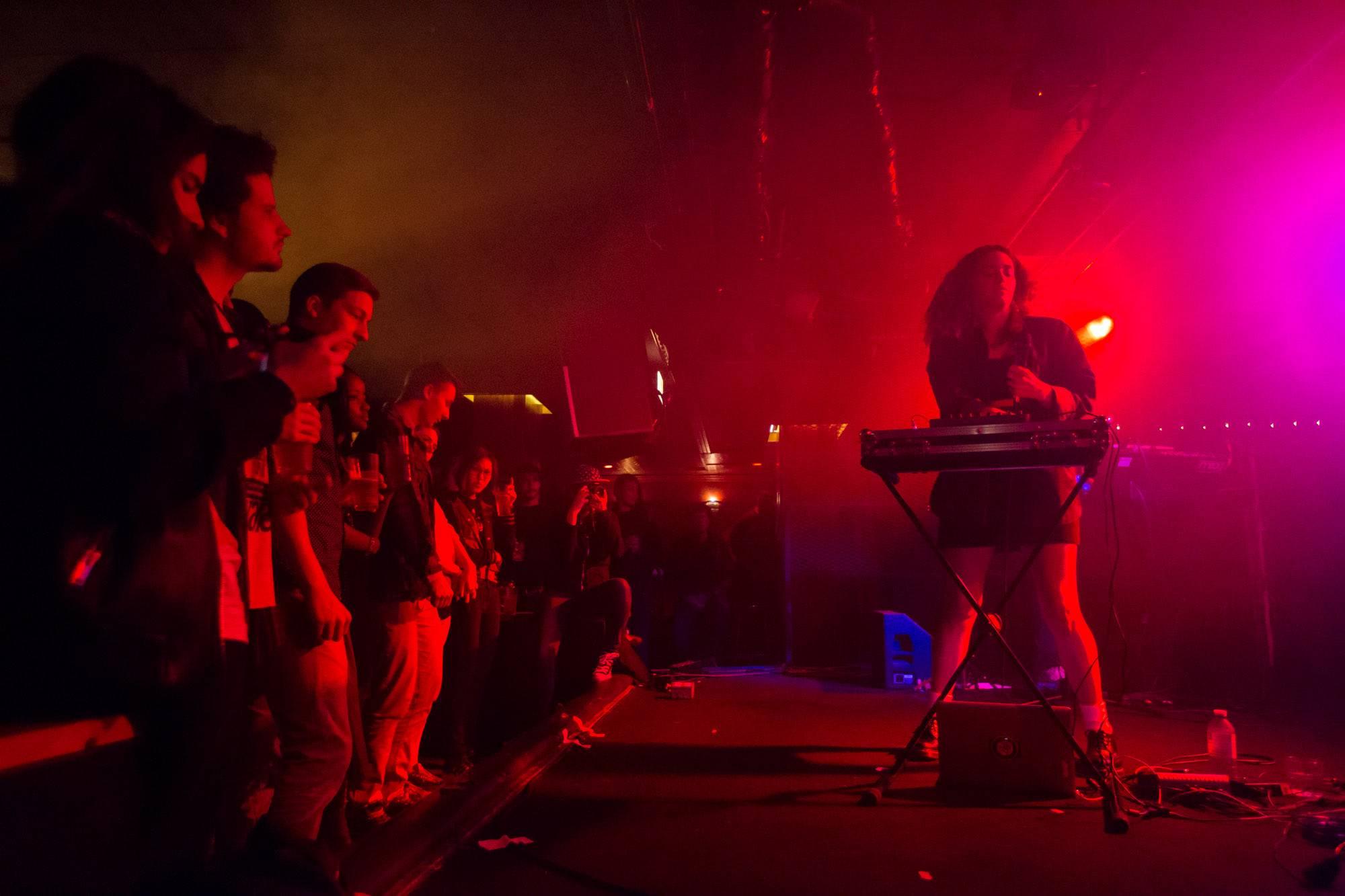 Empress Of at the Biltmore Cabaret, Vancouver, Sept 25 2015. Kirk Chantraine photo.