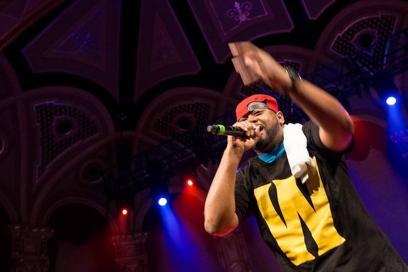 Raekwon with Wu Tang Clan at the Orpheum Theatre, Vancouver