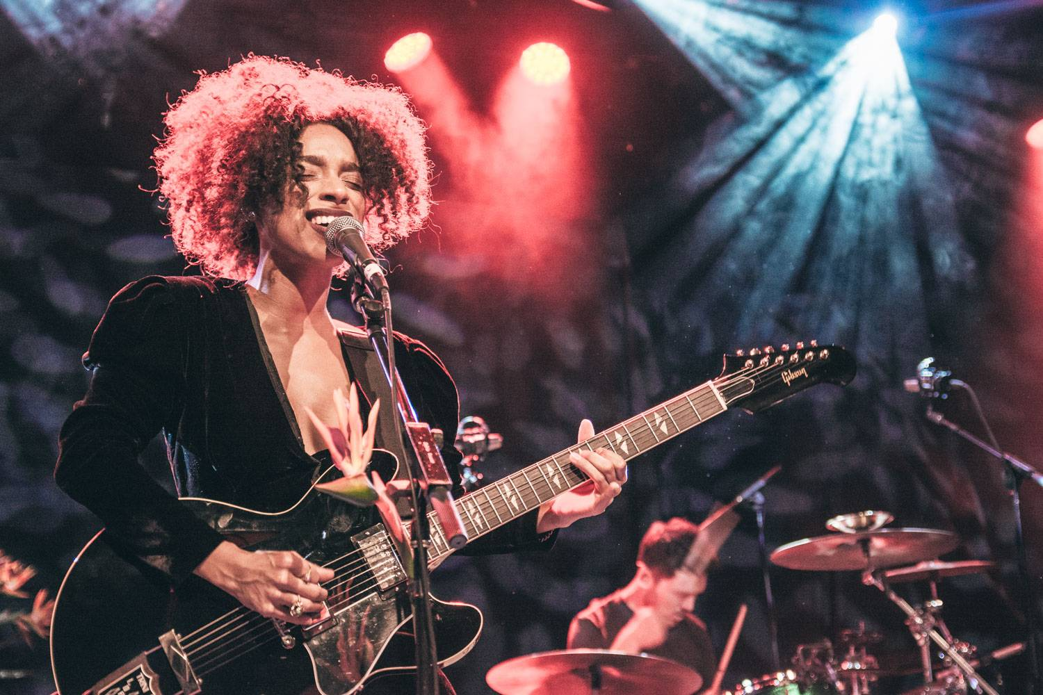 Lianne La Havas at the Commodore Ballroom, Vancouver, Oct 11 2015. Pavel Boiko photo.