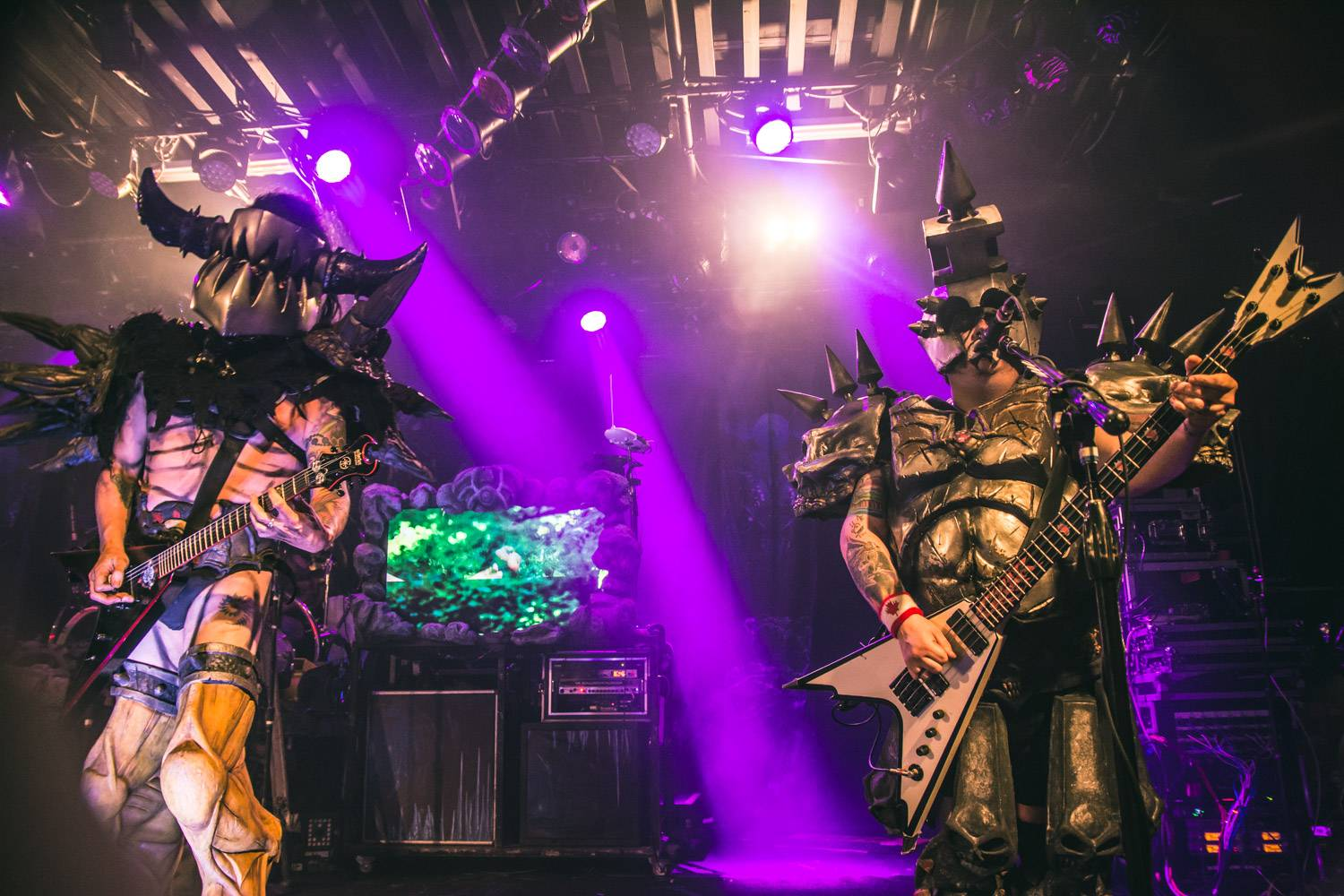 Gwar at the Commodore Ballroom, Vancouver, Oct 16 2015. Pavel Boiko photo.