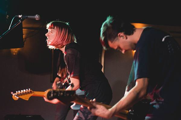 Dilly Dally at the Media Club, Vancouver, Oct. 27 2015. Audrey Alexandrescu photo.