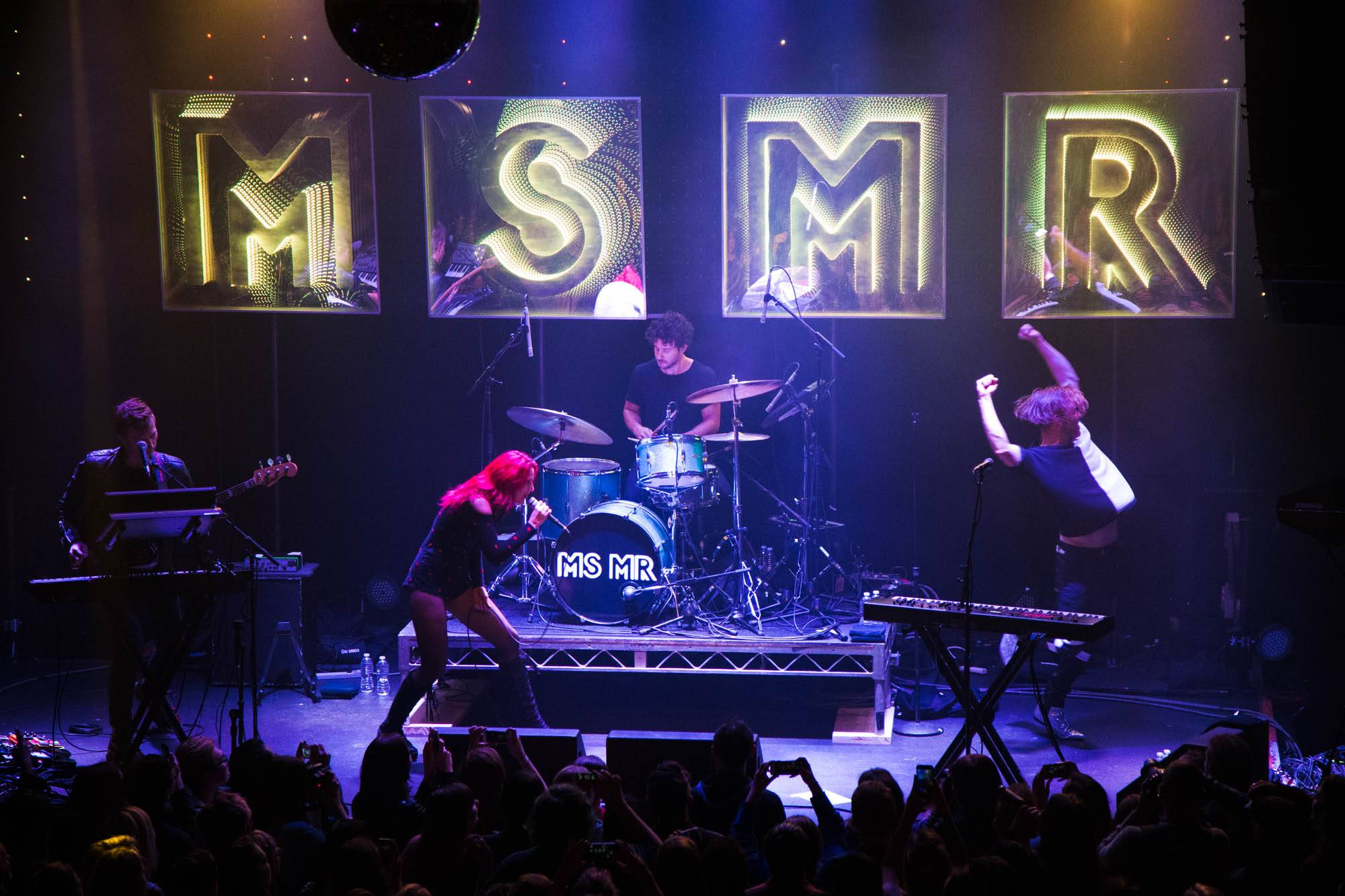 MS MR at Venue Nightclub, Vancouver, Oct 19 2015. Kirk Chantraine photo.