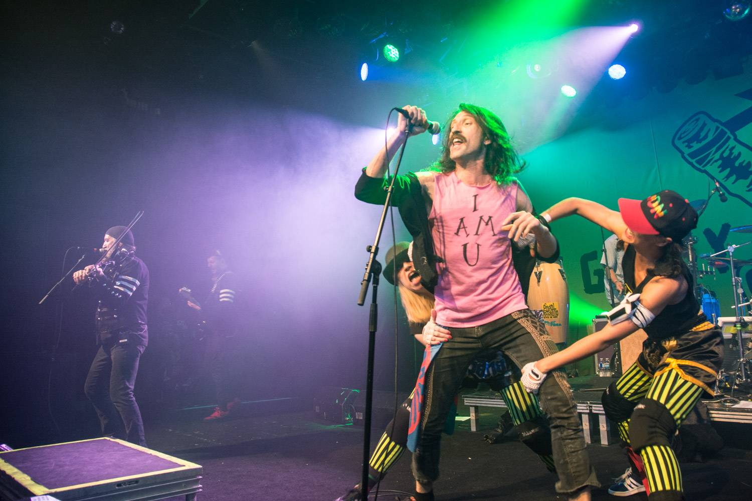 Gogol Bordello at the Commodore Ballroom, Vancouver, Nov. 21 2015. Pavel Boiko photo.