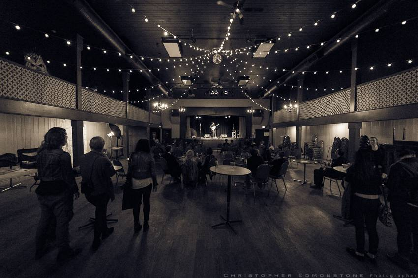 Then and Now Fundraiser at the WISE Hall, Vancouver, Oct 28 2015. Christopher Edmonstone photo.