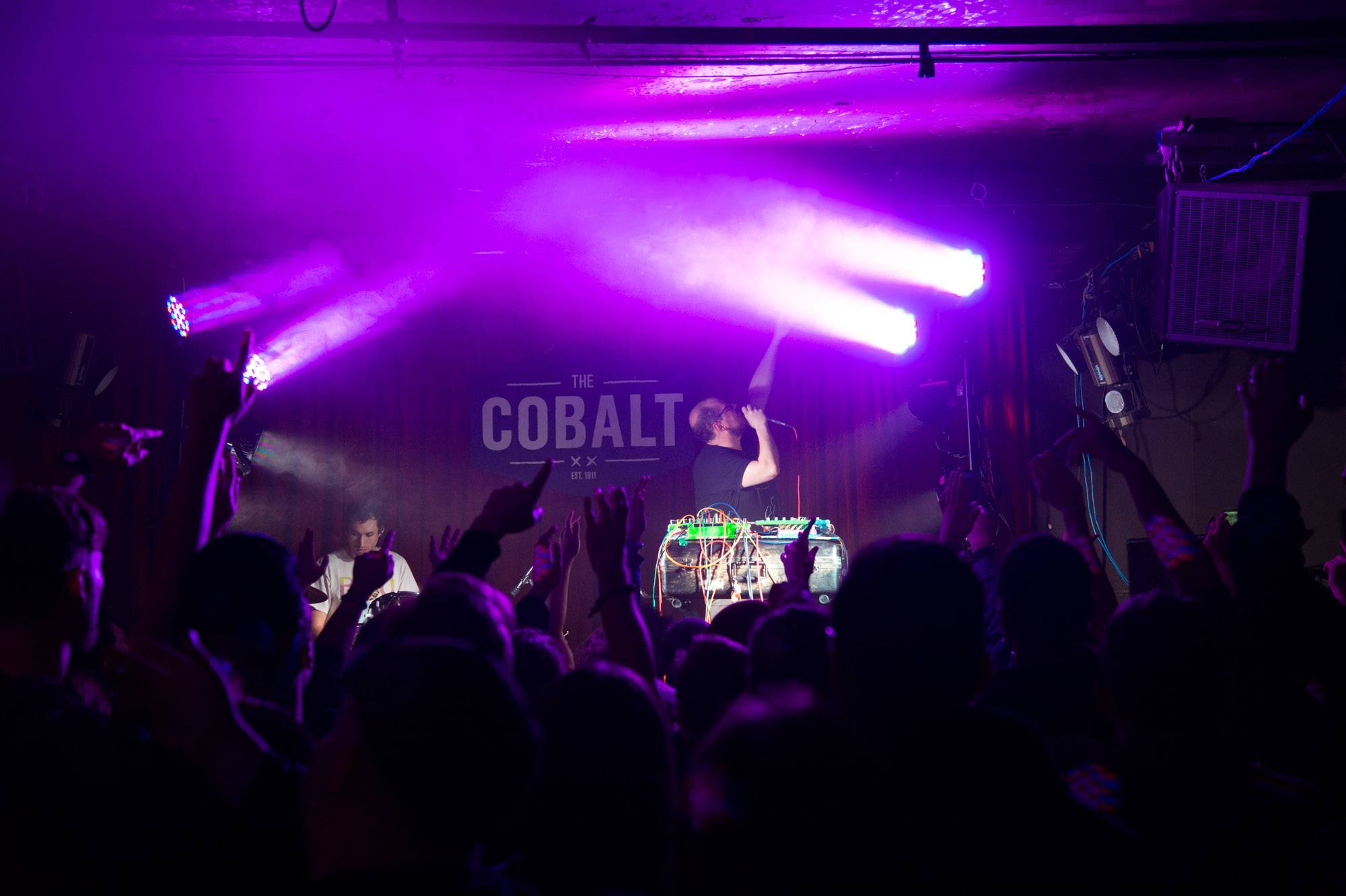 Dan Deacon at the Cobalt, Vancouver, Dec. 15 2015. Kirk Chantraine photo.