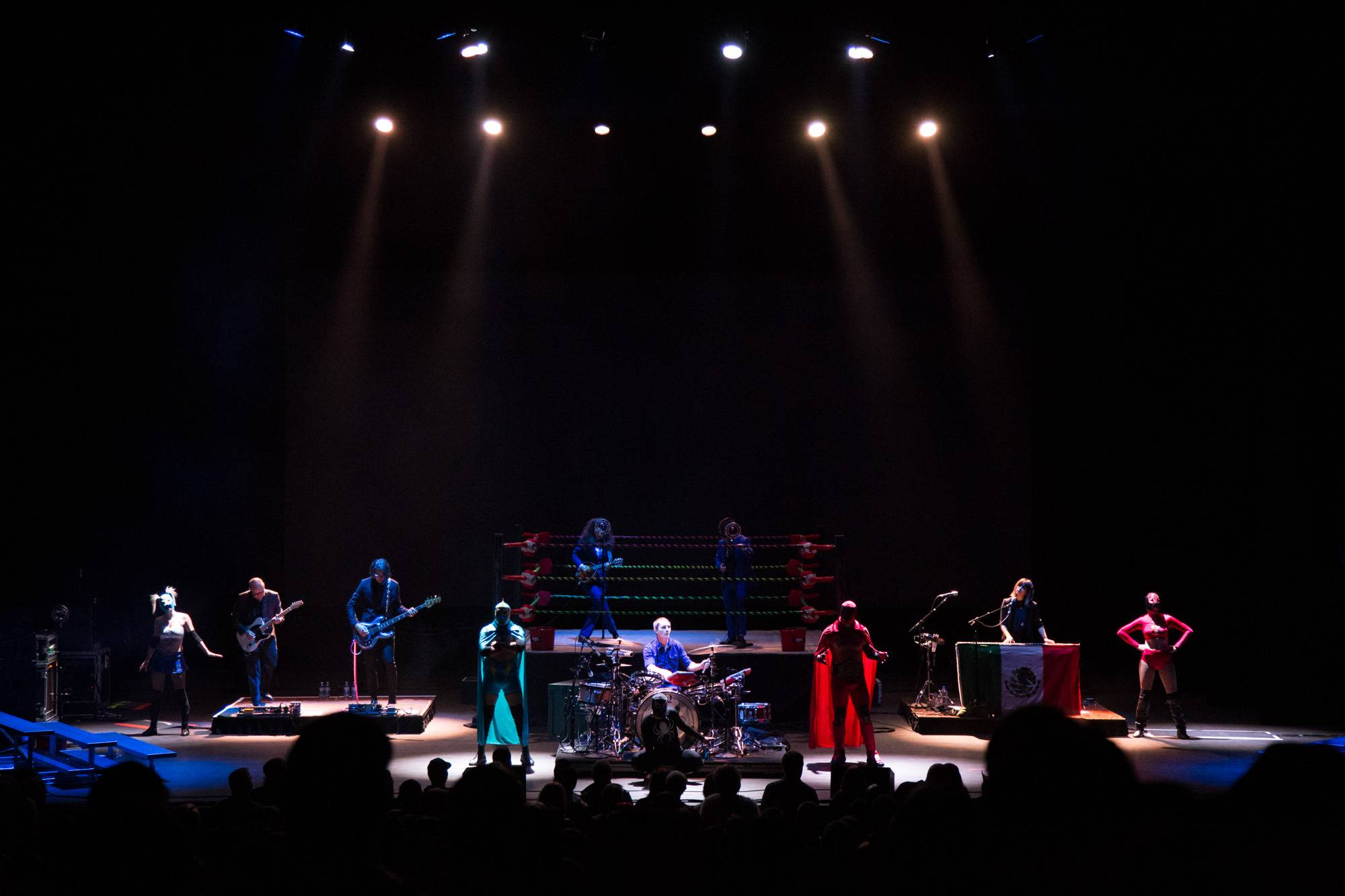 Puscifer at the Queen Elizabeth Theatre, Vancouver, Dec. 2 2015. Kirk Chantraine photo.