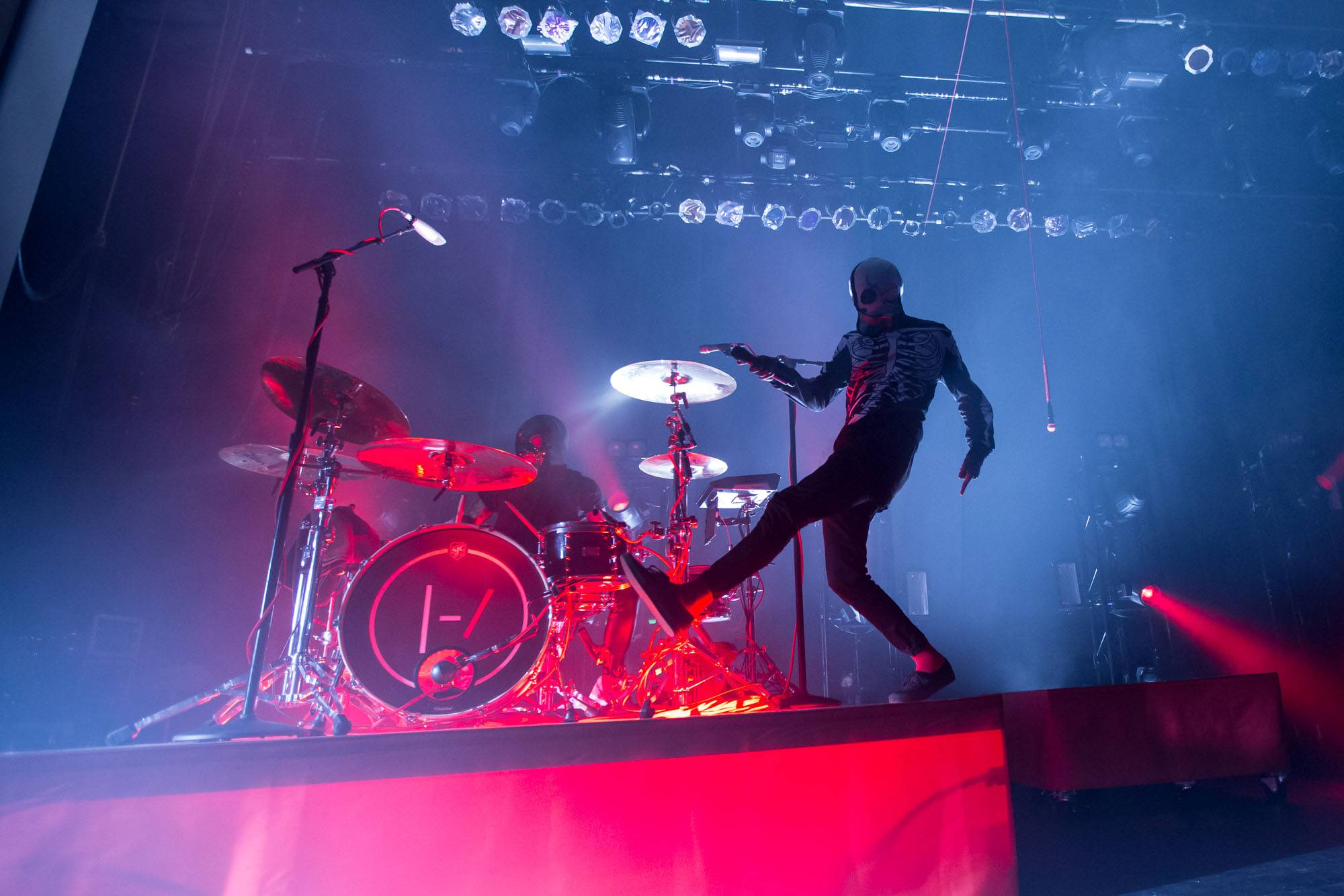 Twenty One Pilots at the Vogue Theatre, Vancouver, Dec. 9 2015. Kirk Chantraine photo.