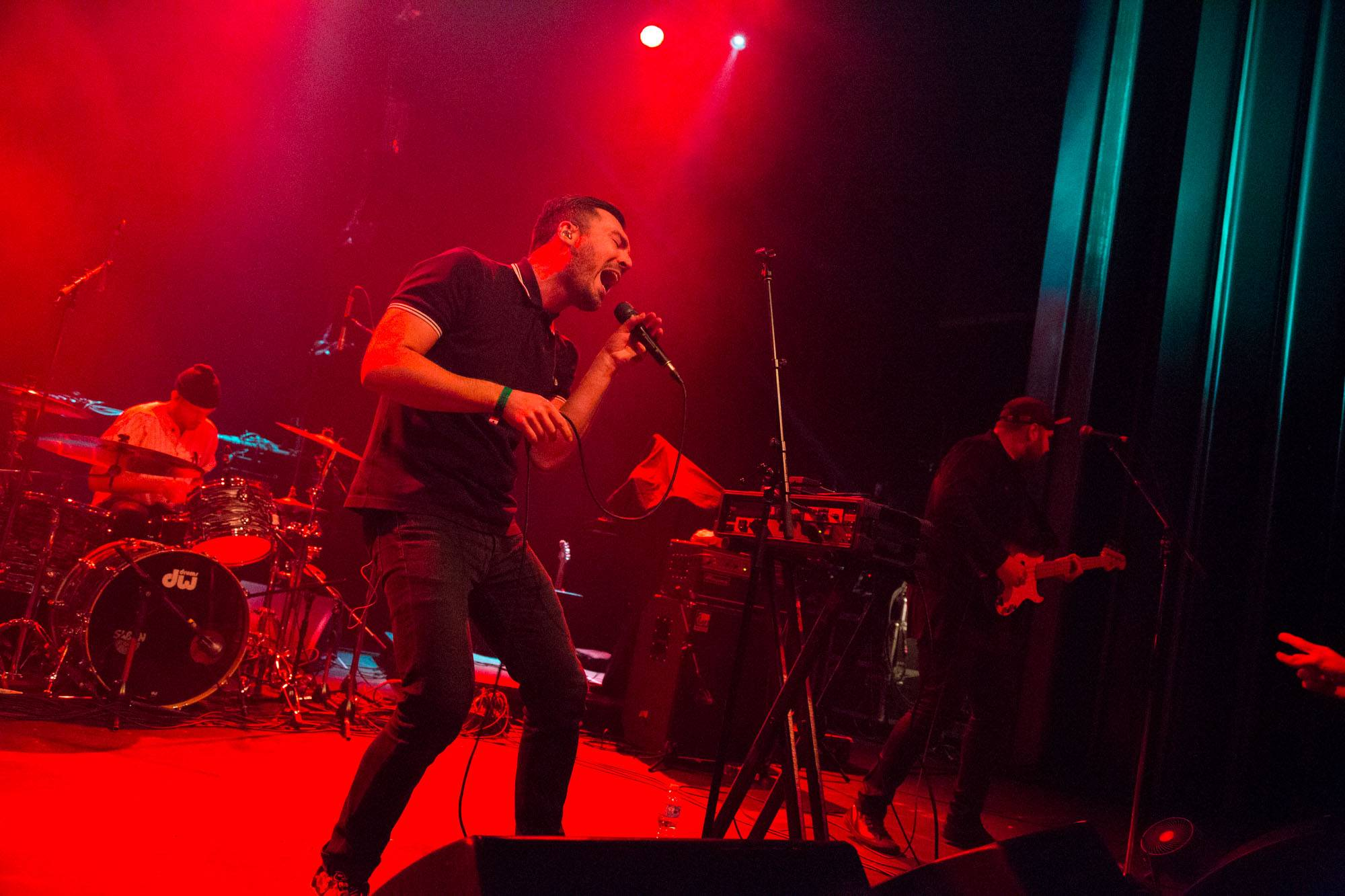 Young Empires at the Vogue Theatre, Vancouver, Dec. 11 2015. Kirk Chantraine photo.