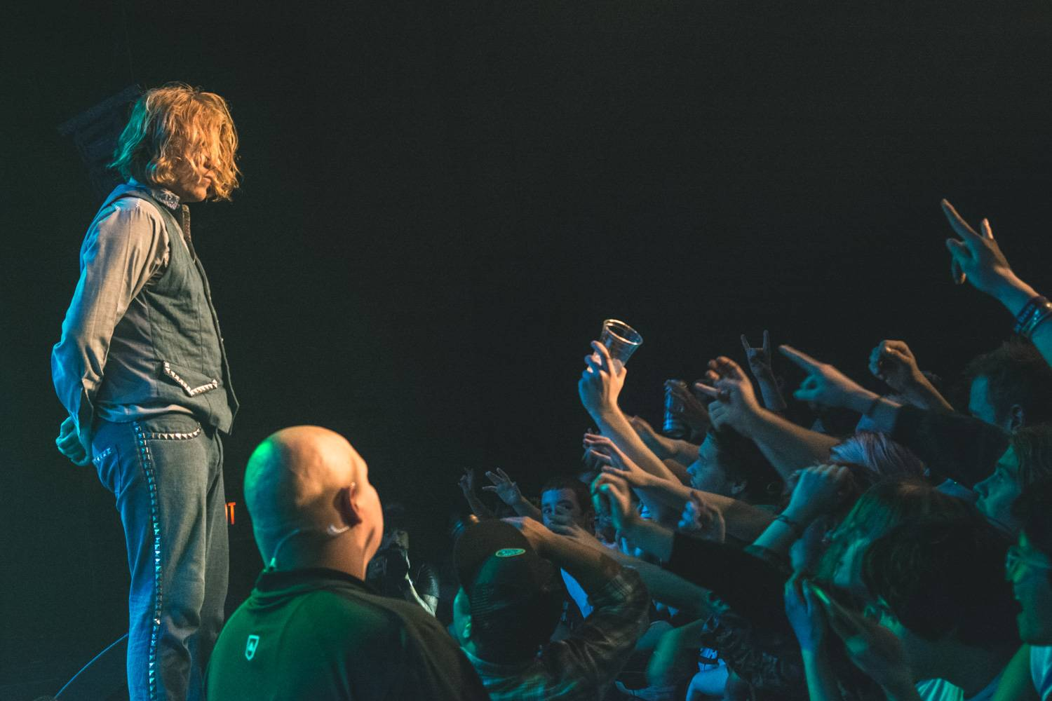 Ty Segall at the Vogue Theatre, Vancouver, Jan. 22 2016. Pavel Boiko photo.