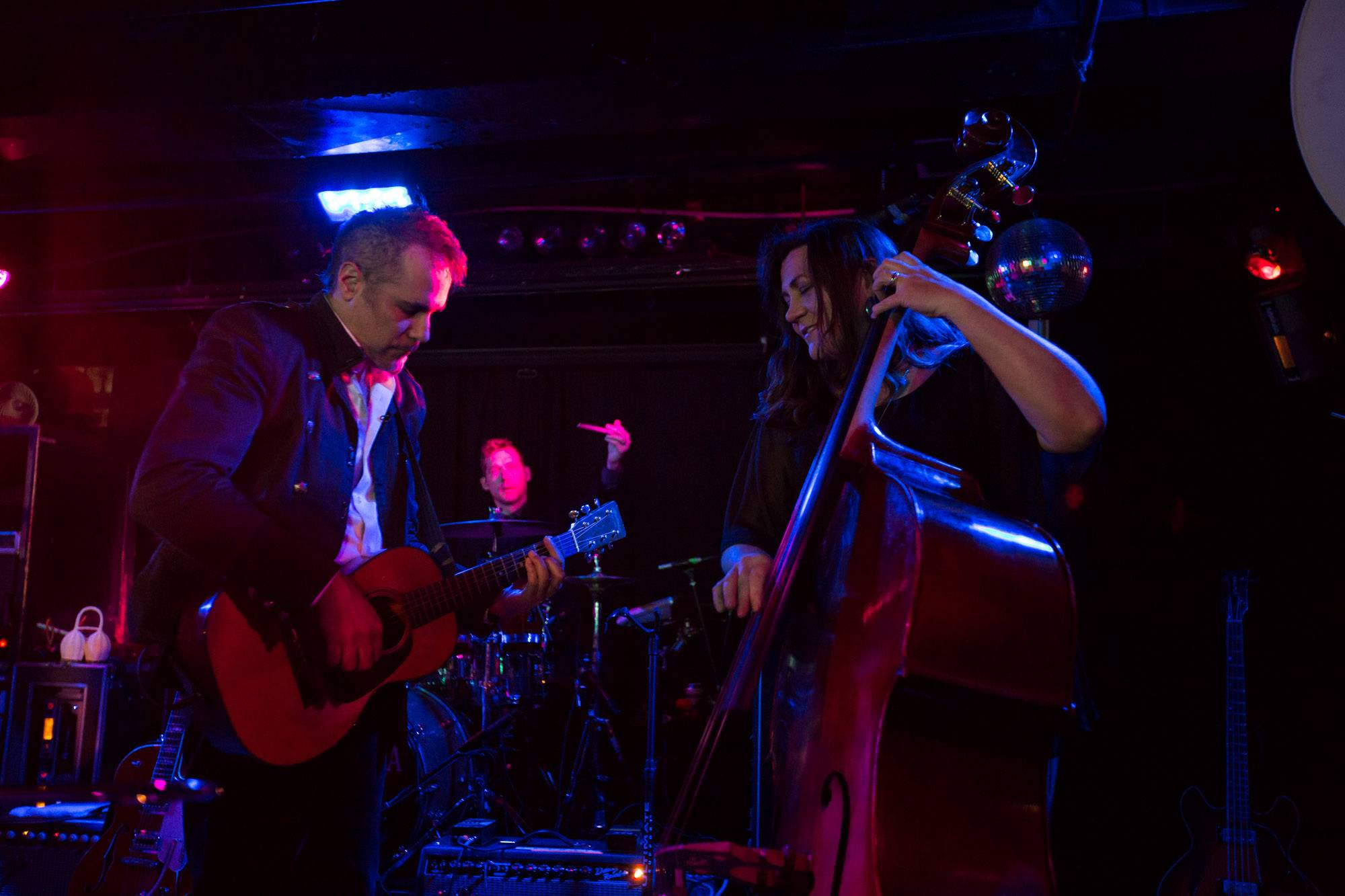 Devotchka at the Biltmore Cabaret, Vancouver, Jan. 8 2016. Kirk Chantraine photo.