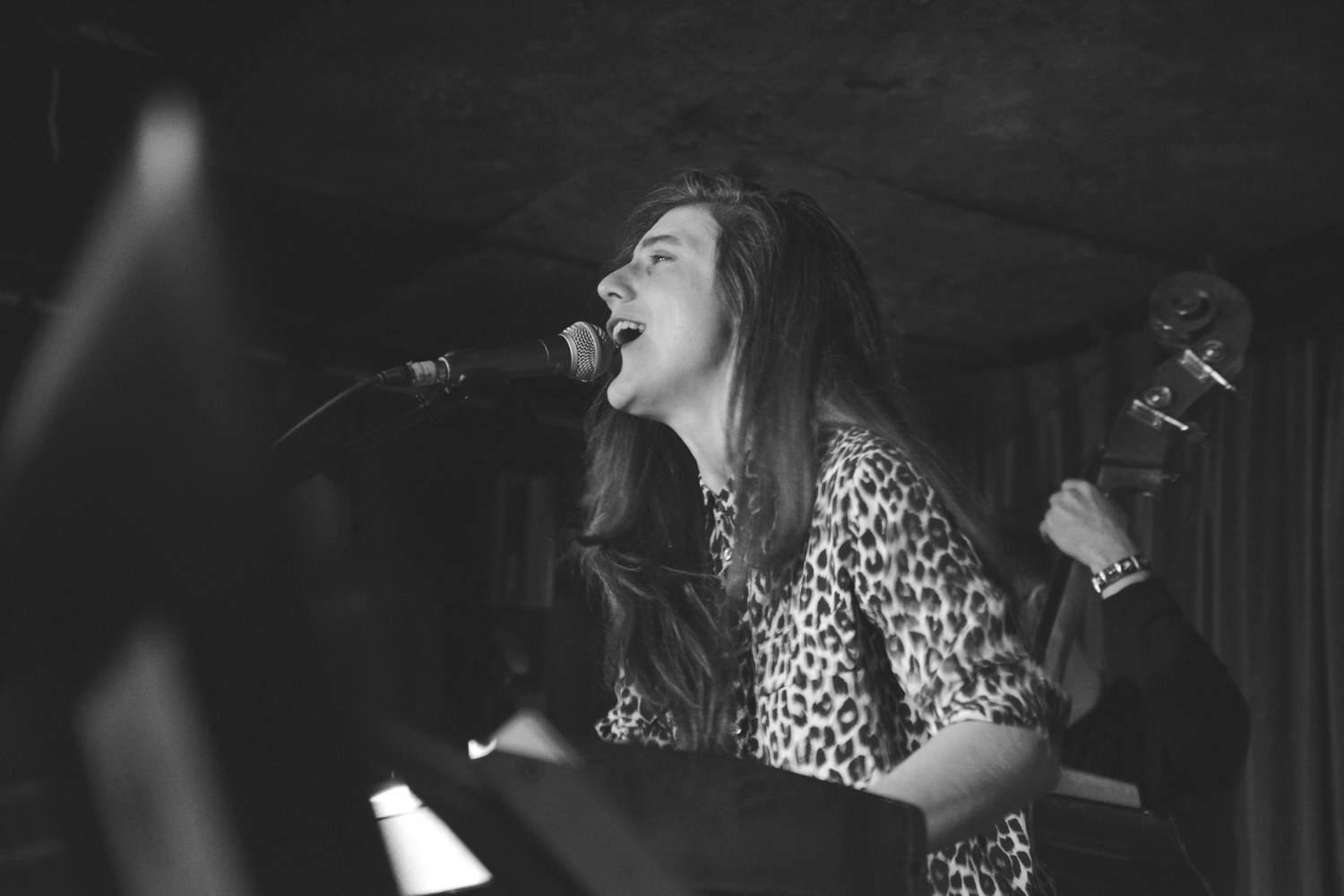 Julia Holter at the Cobalt, Vancouver, Feb. 4 2016. Pavel Boiko photo.