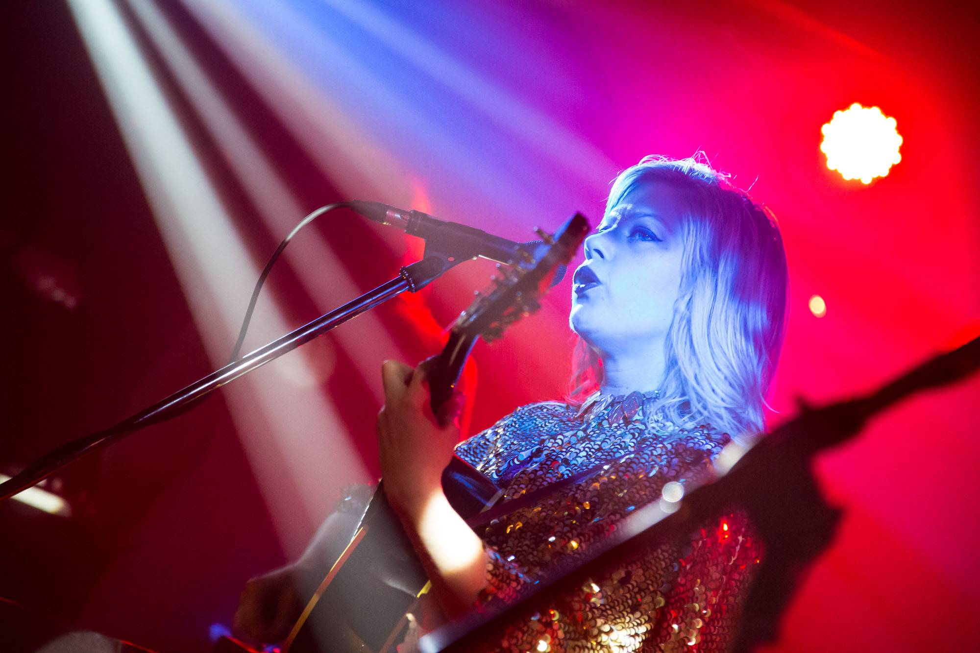Basia Bulat at Fortune Sound Club, Vancouver, Feb. 25 2016. Kirk Chantraine photo.