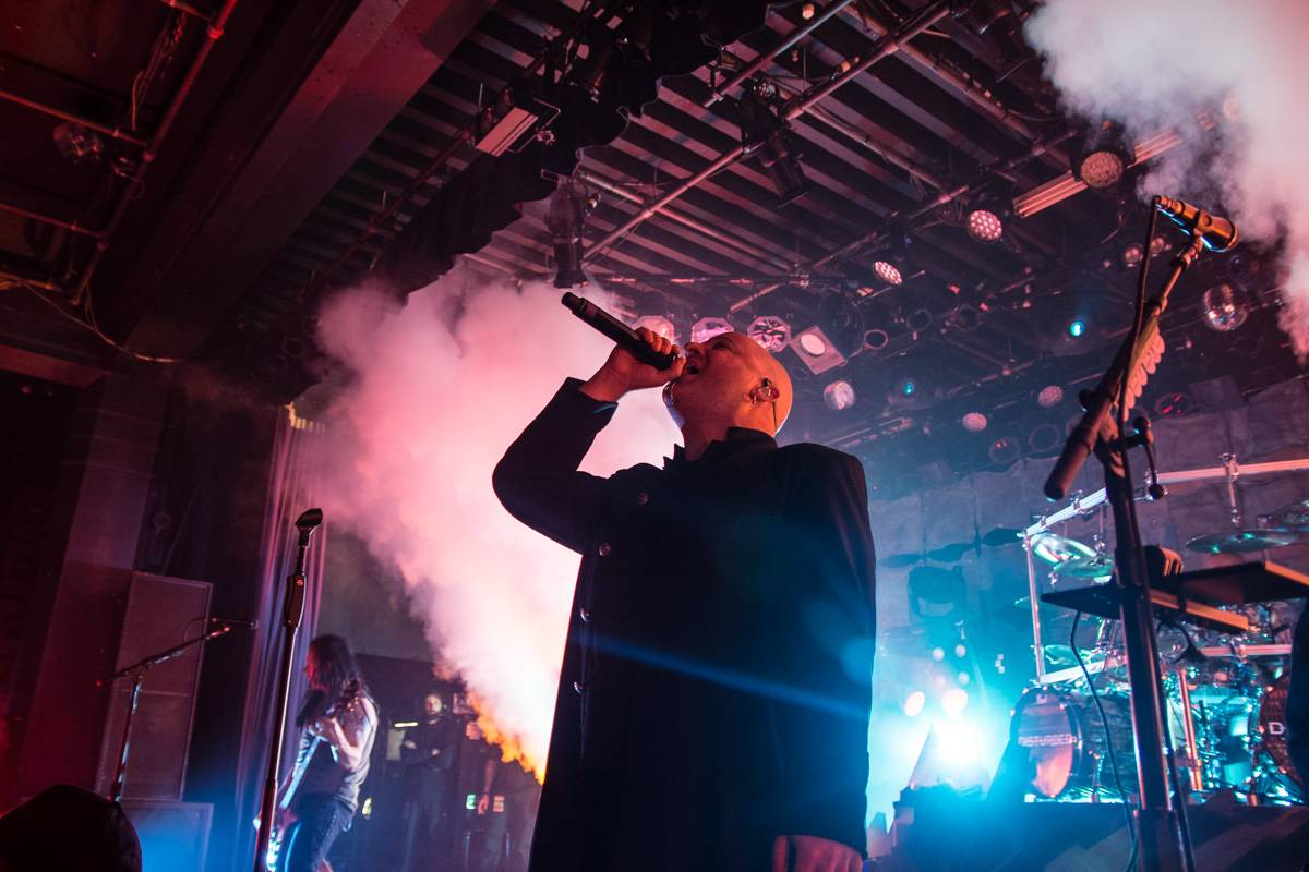 Disturbed at the Commodore Ballroom, Vancouver, Mar. 11 2016. Pavel Boiko photo.