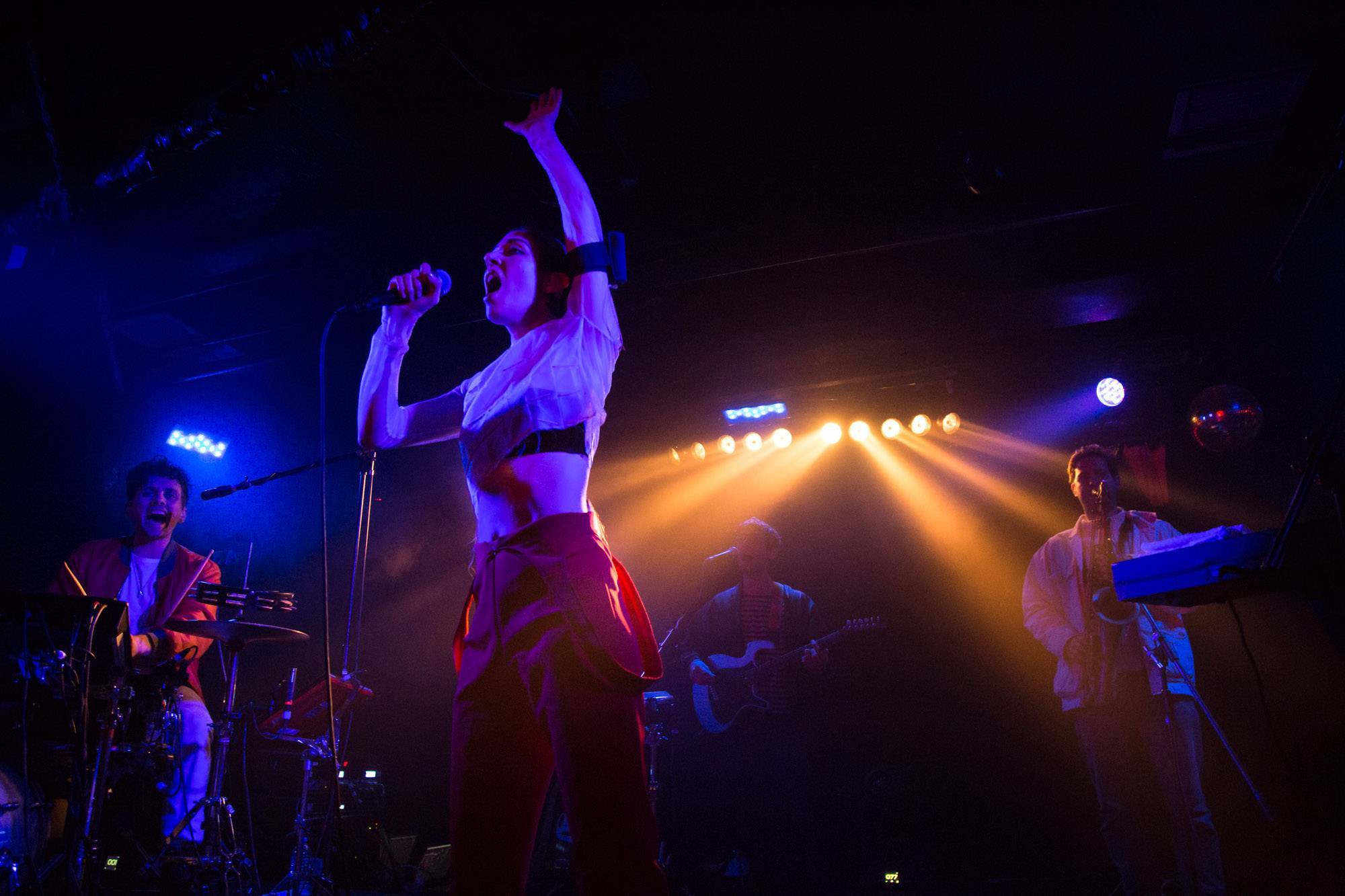 Chairlift at the Biltmore Cabaret, Vancouver, Mar. 24 2016. Kirk Chantraine photo.