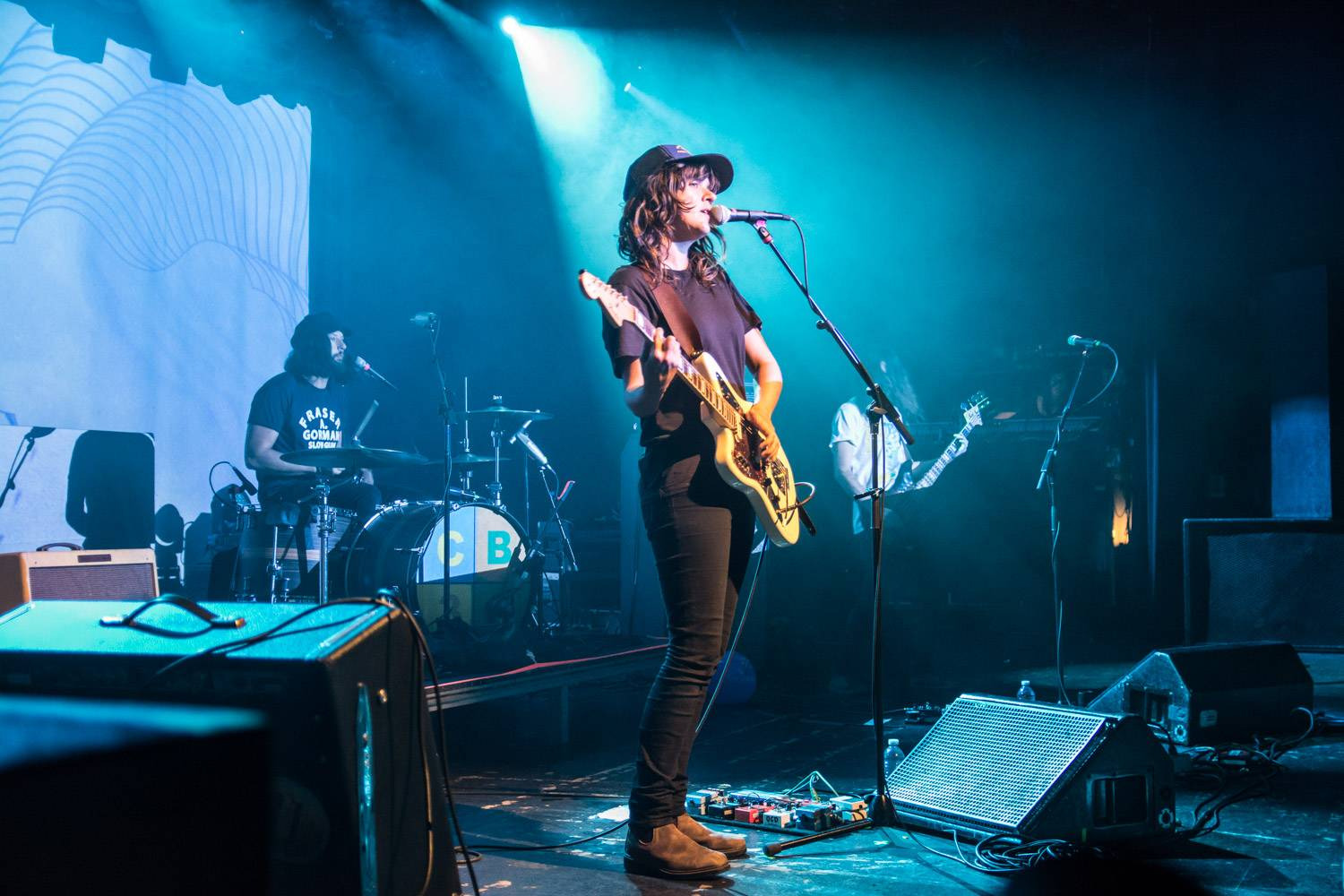 Courtney Barnett at the Commodore Ballroom, Vancouver, Apr. 19 2016. Pavel Boiko photo.