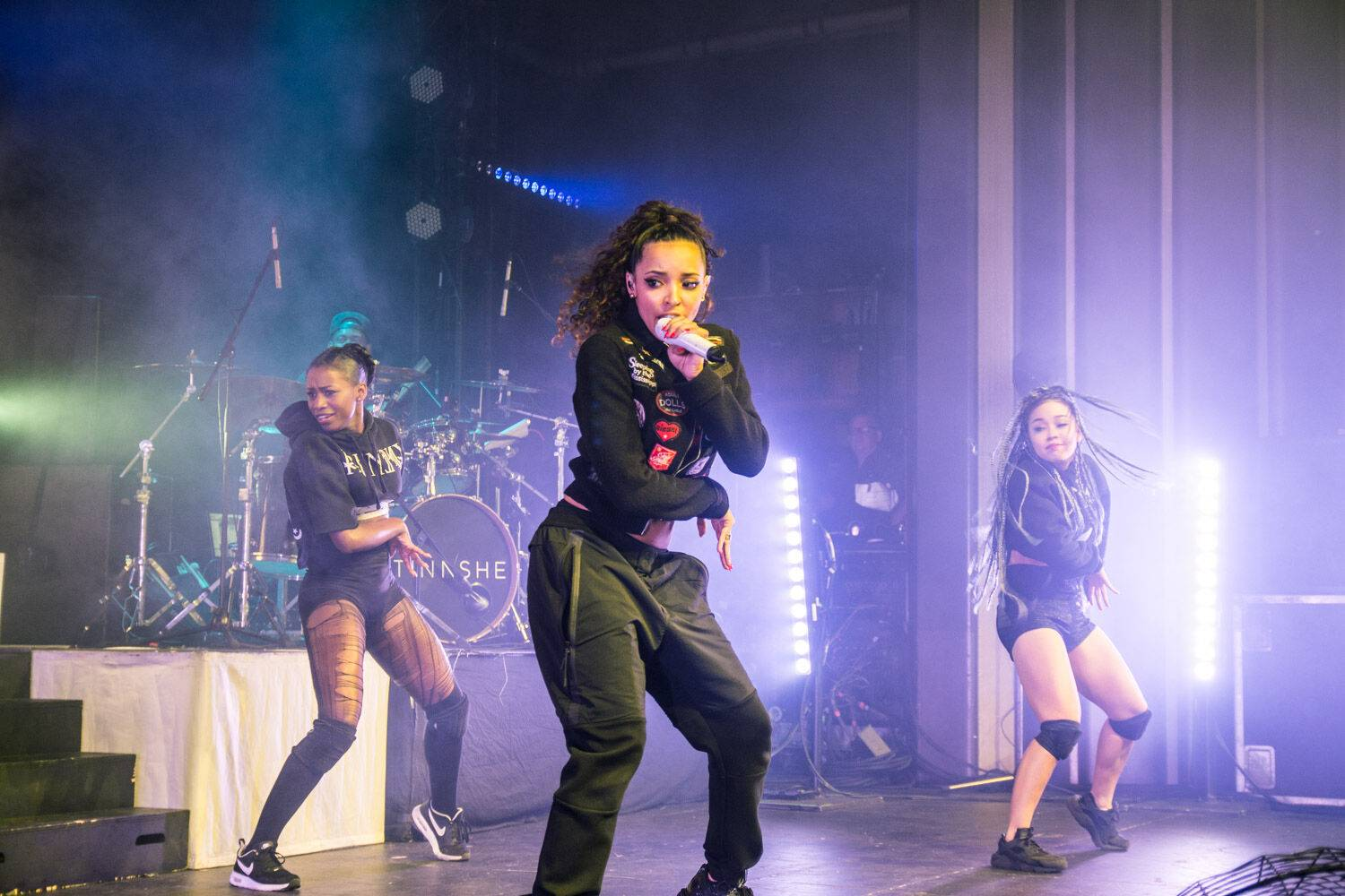 Tinashe at the Vogue Theatre, Vancouver, Apr. 10 2016. Pavel Boiko photo.