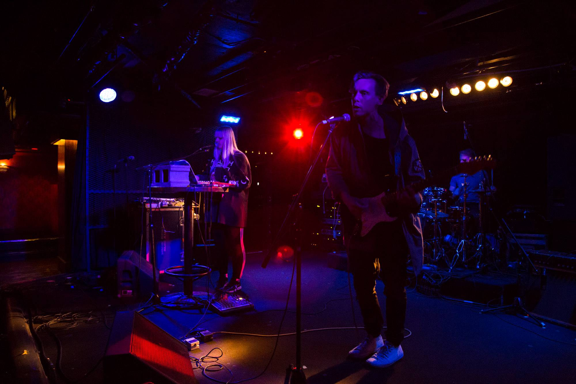 Gang Signs at the Biltmore Cabaret, Vancouver, Apr. 25 2016. Kirk Chantraine photo.