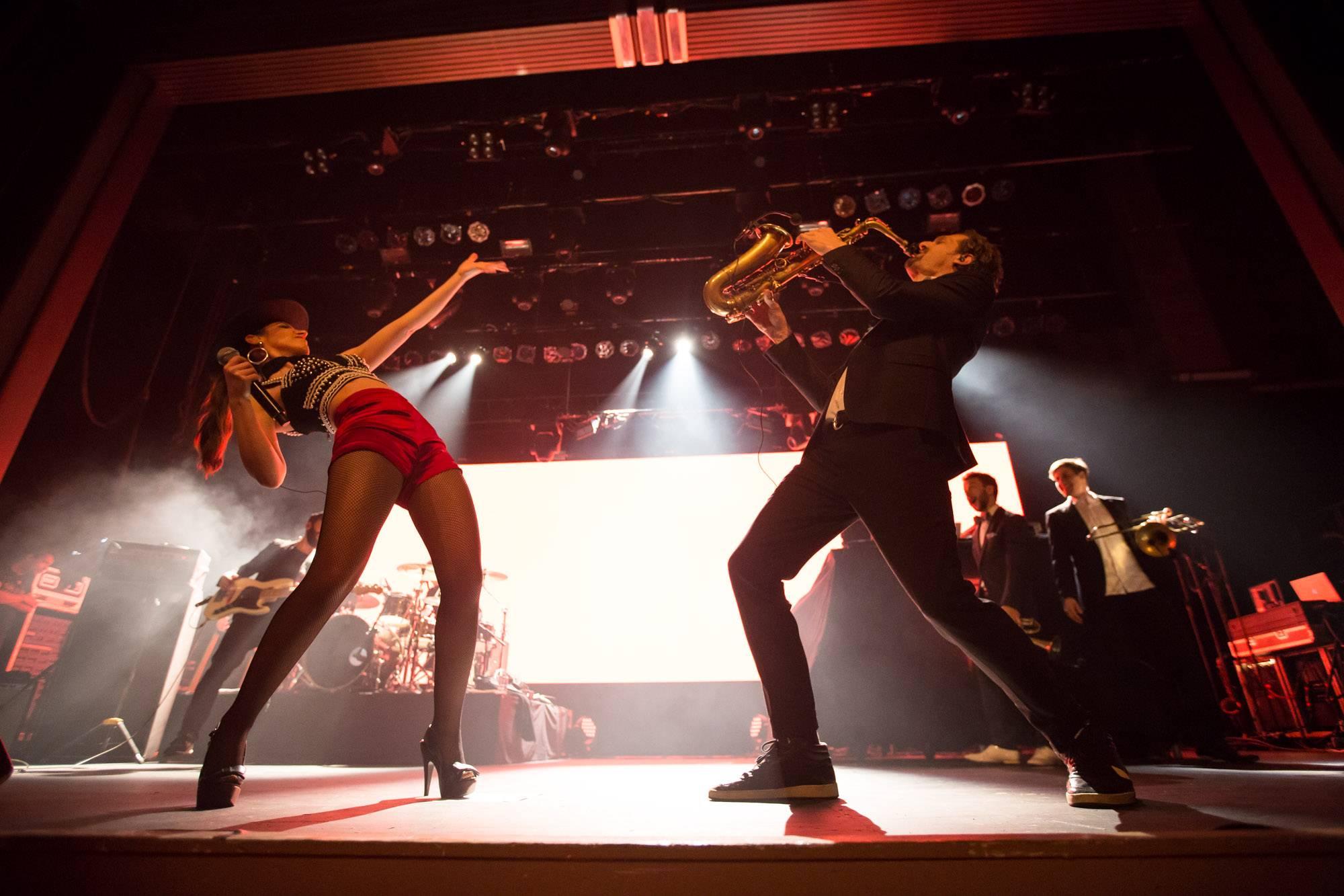 Parov Stelar at the Vogue Theatre, Vancouver, Apr. 19 2016. Kirk Chantraine photo.