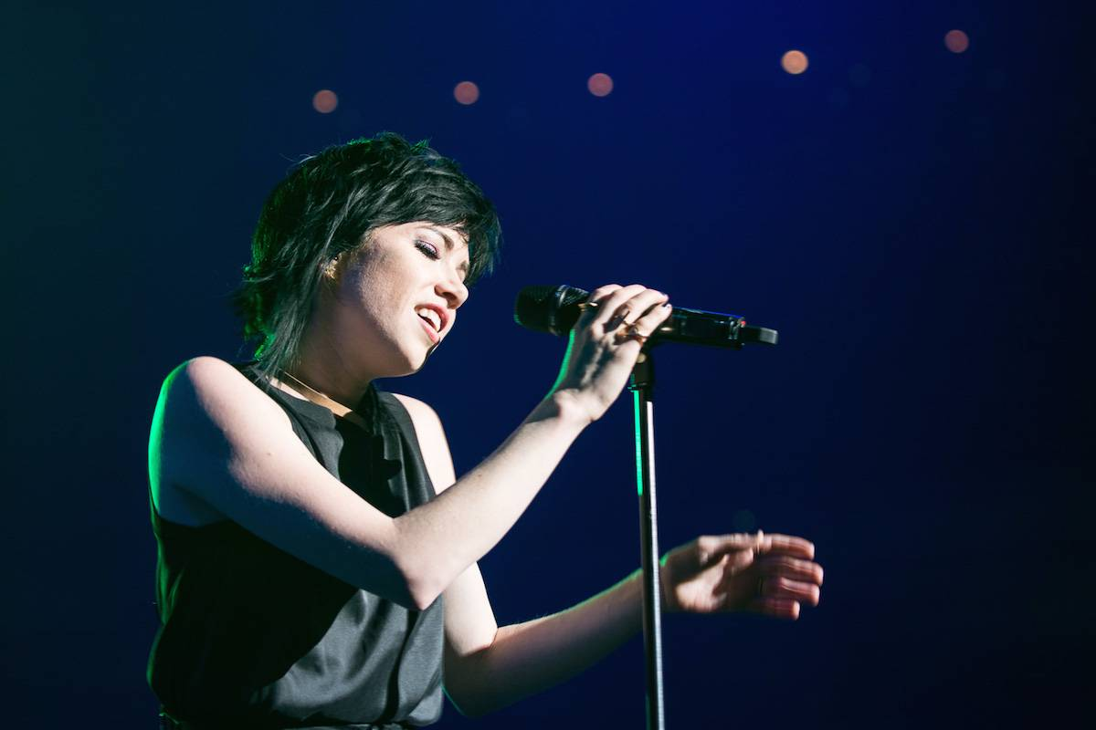 Carly Rae Jepsen at Rogers Arena, Vancouver, May 20 2016. Pavel Boiko photo.