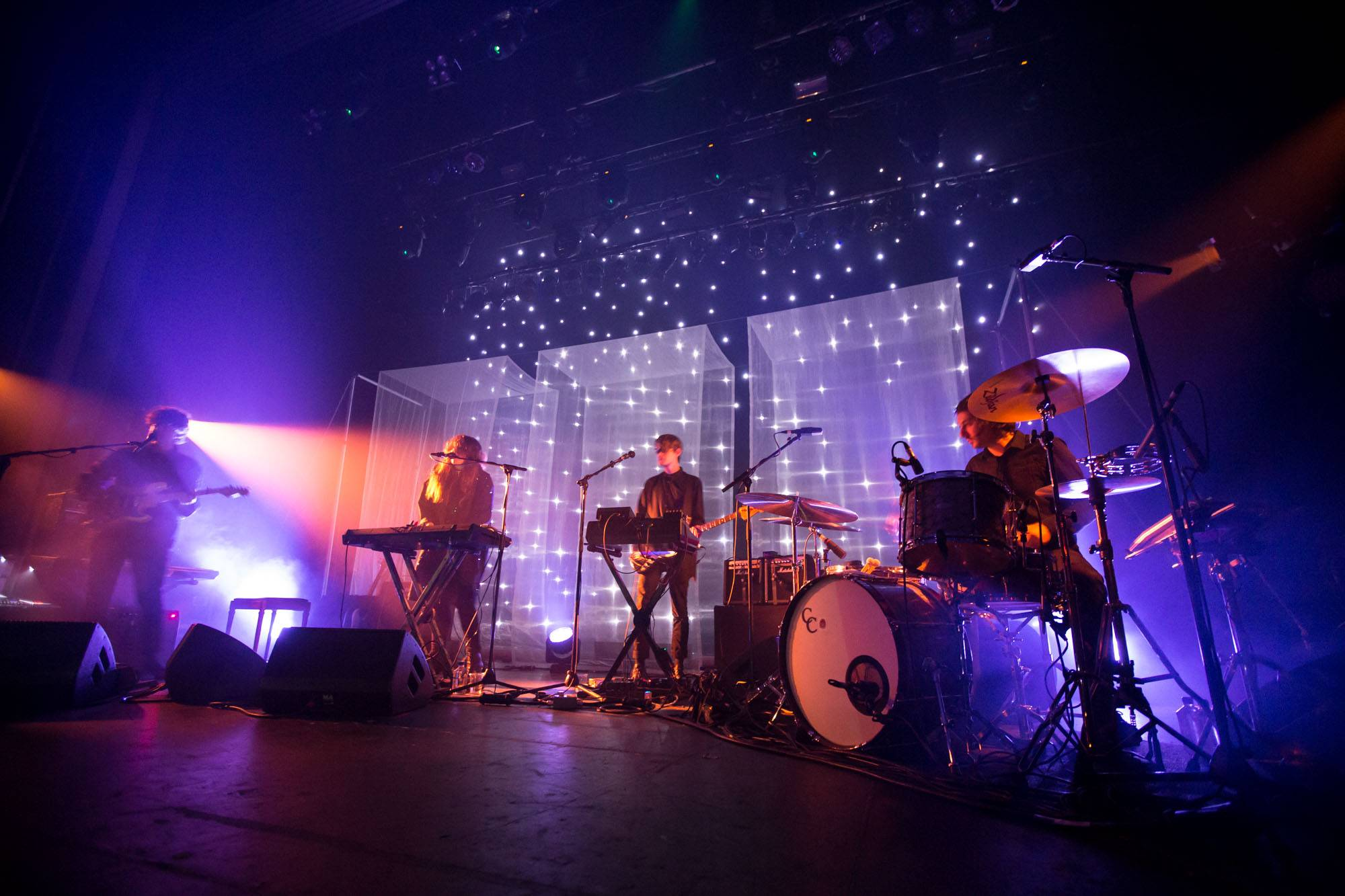 Beach House at the Vogue Theatre, Vancouver, Apr. 30 2016. Kirk Chantraine photo.