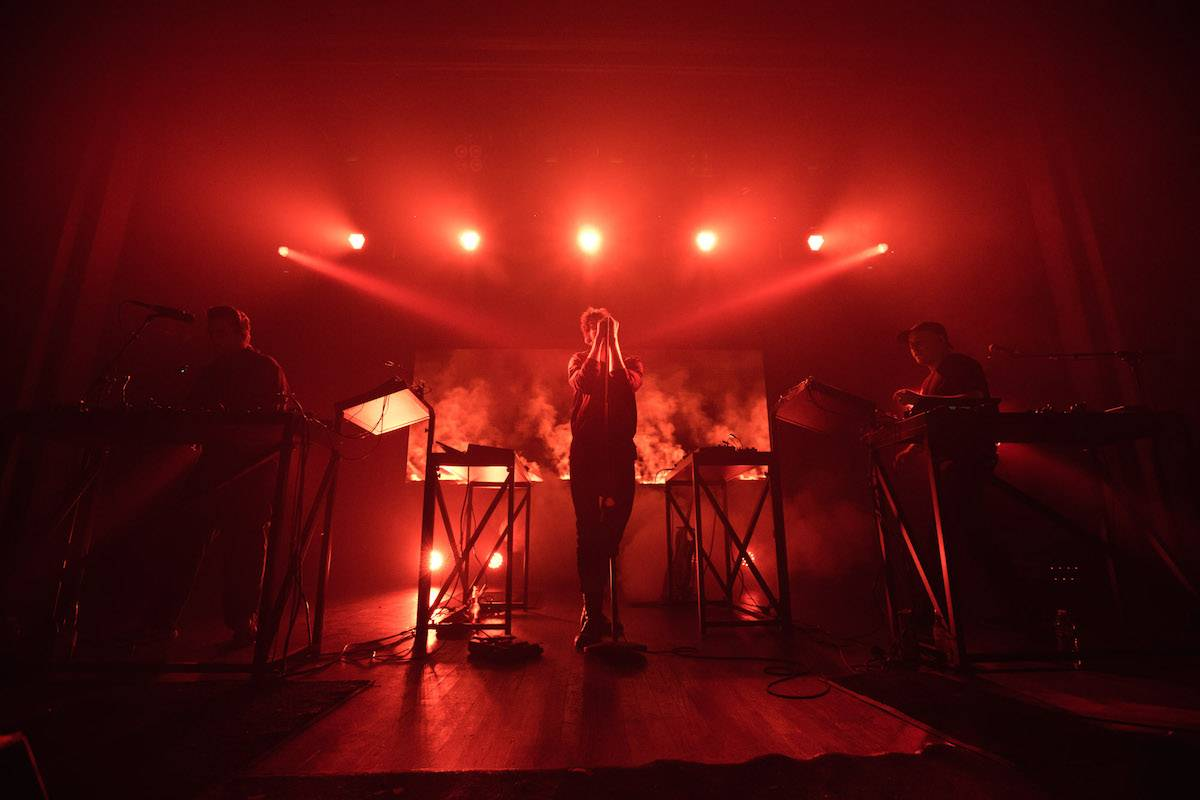 Moderat at Webster Hall, New York City, May 19 2016. Kirk Chantraine photo.