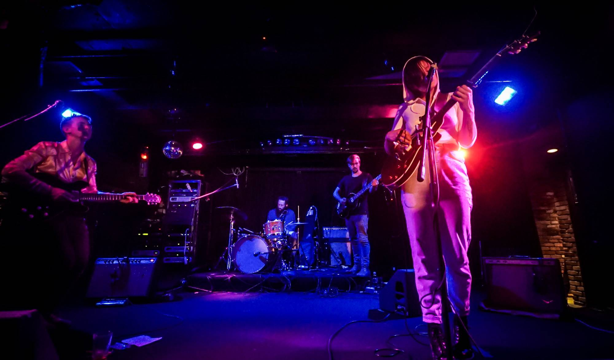 Big Thief at the Biltmore Cabaret, Vancouver, Jul 9 2016. Janelle Huopalainen photo.