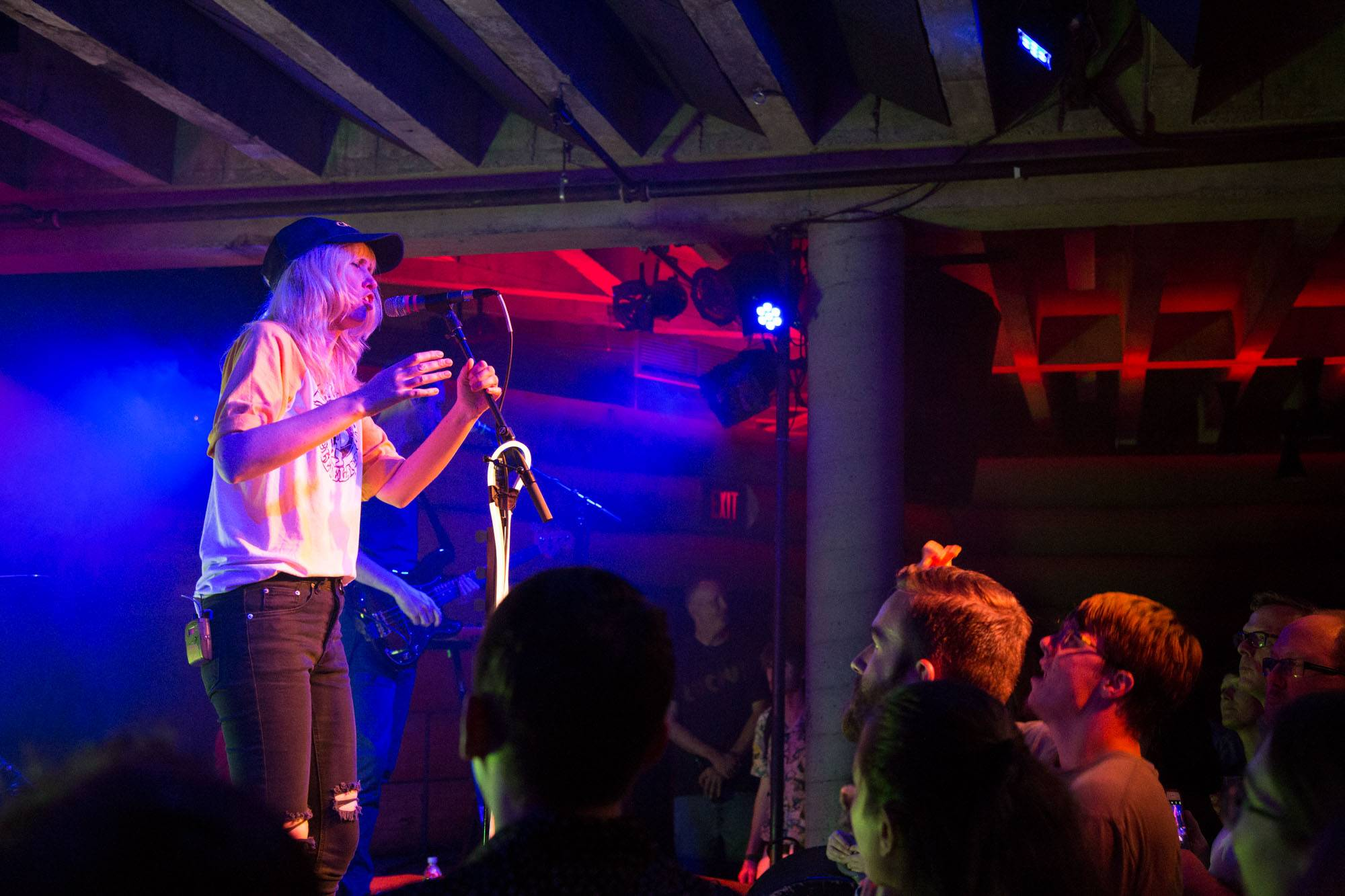 Ladyhawke at the Doug Fir Lounge, Portland, Jul 1 2016. Kirk Chantraine photo.