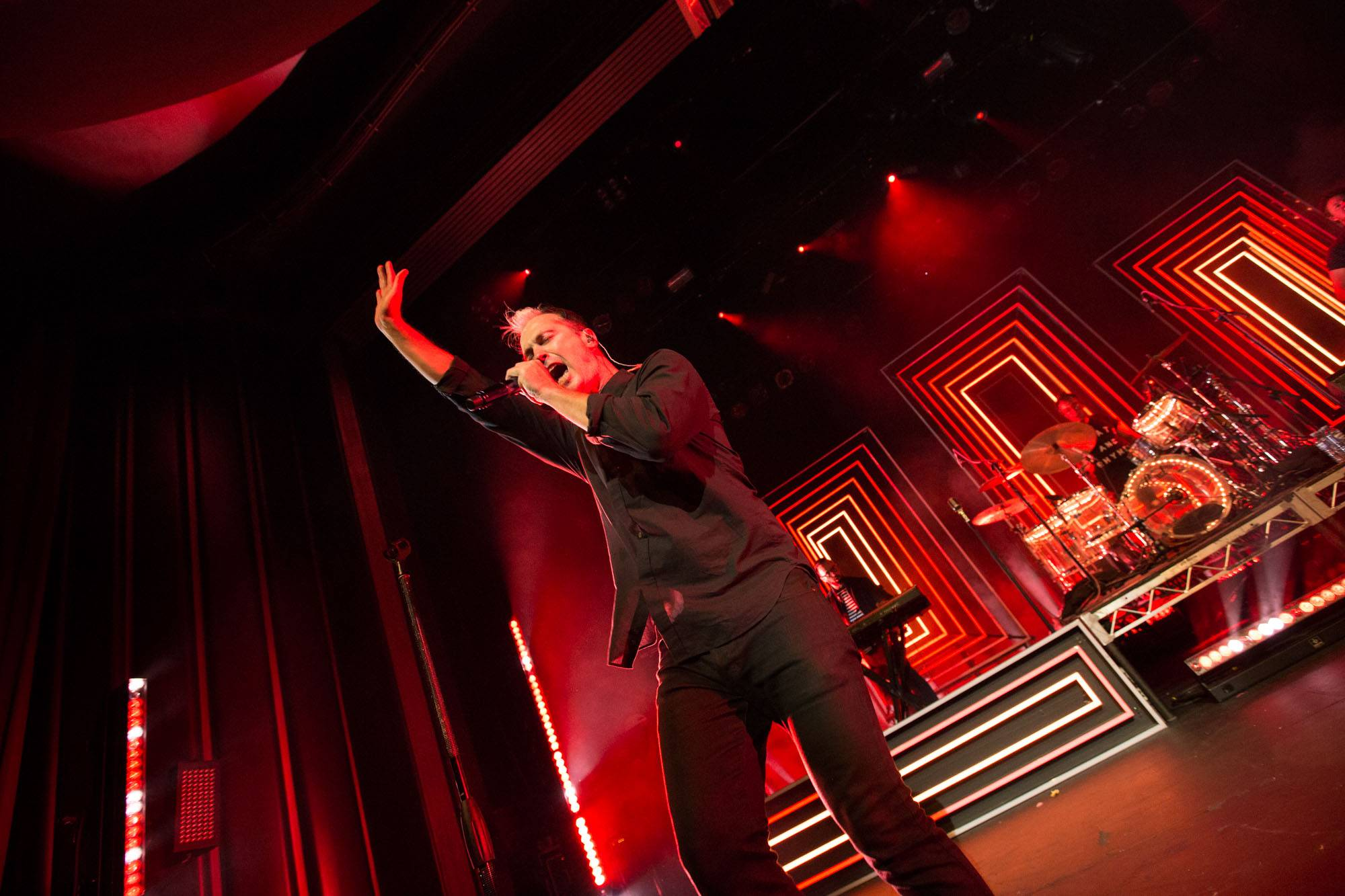 Fitz and the Tantrums at the Vogue Theatre, Vancouver, Aug. 24 2016. Kirk Chantraine photo.