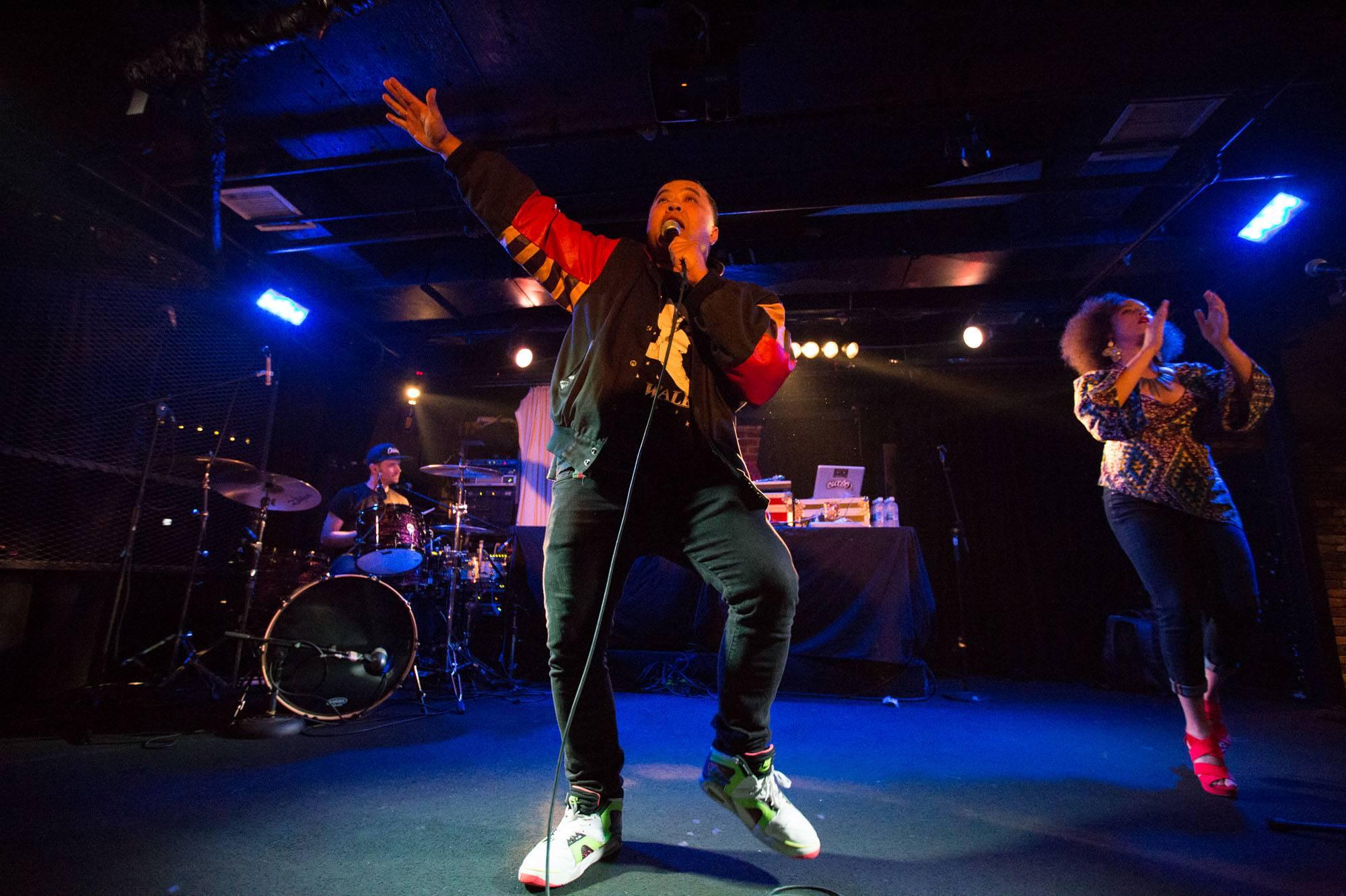 Lyrics Born at the Biltmore Cabaret, Vancouver, Aug. 5 2016. Kirk Chantraine photo.