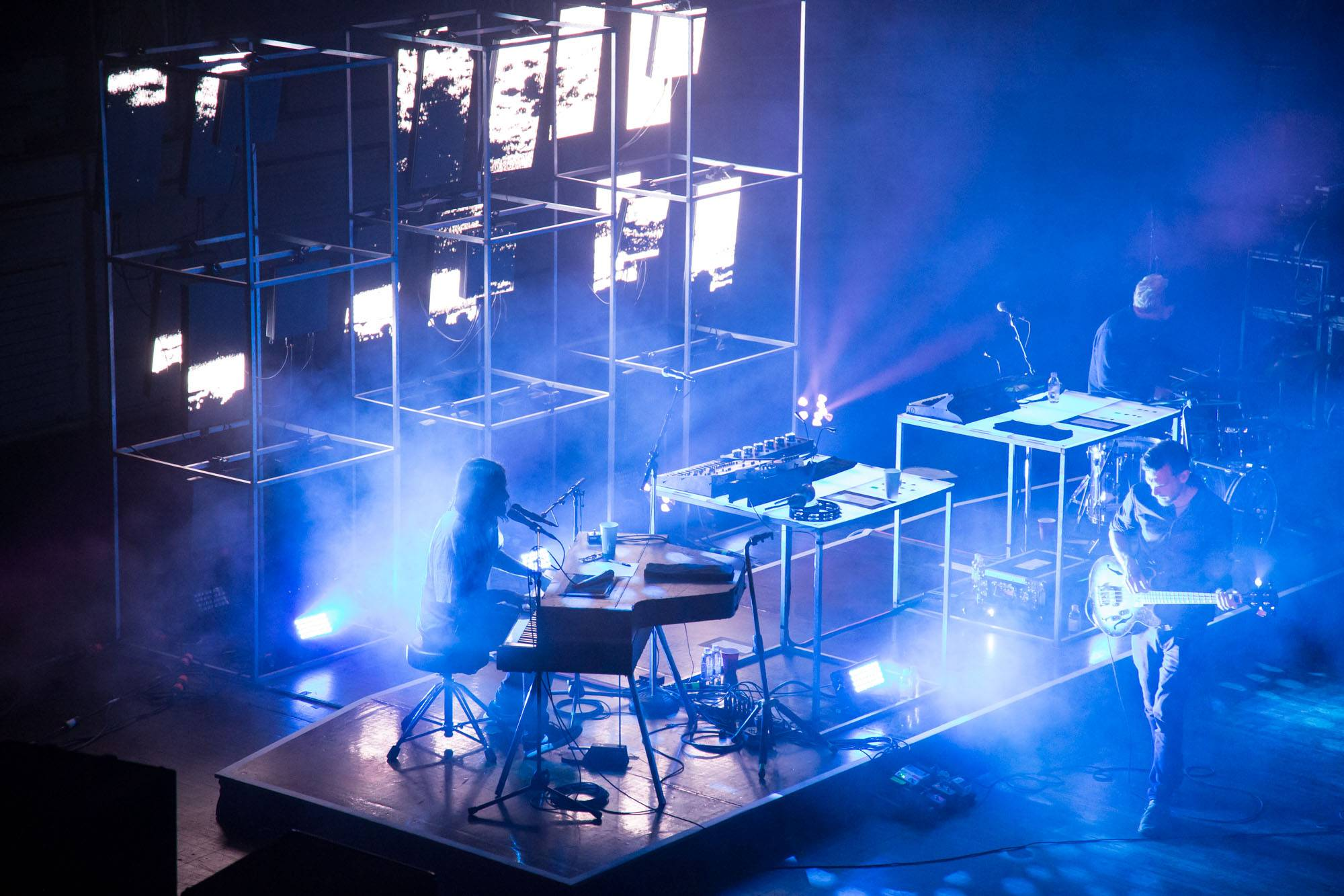 Miike Snow at the Orpheum Theatre, Vancouver, Aug. 12 2016. Kirk Chantraine photo.