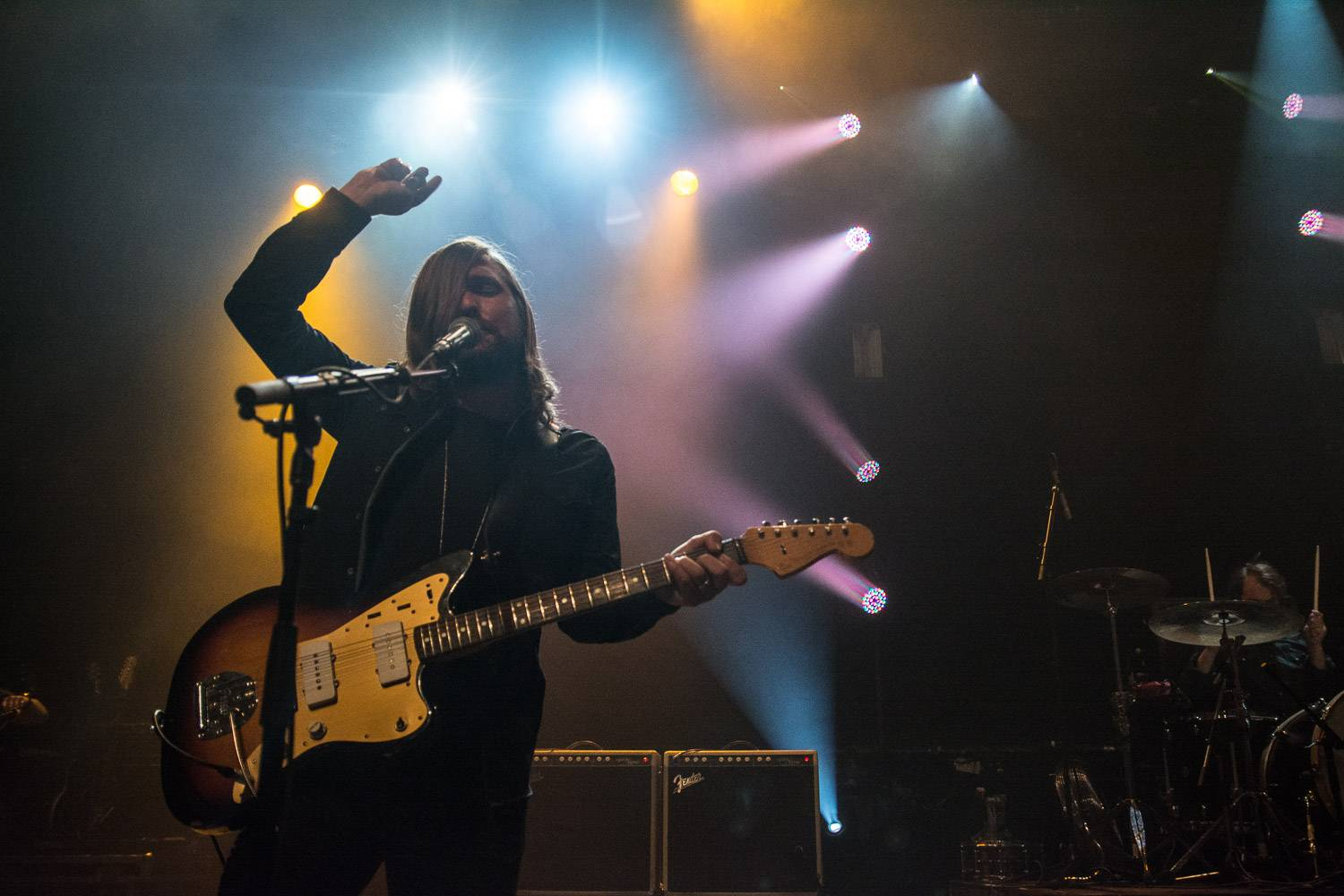 Band Of Skulls at the Vogue Theatre, Vancouver, Sept 16 2016. Pavel Boiko photo.