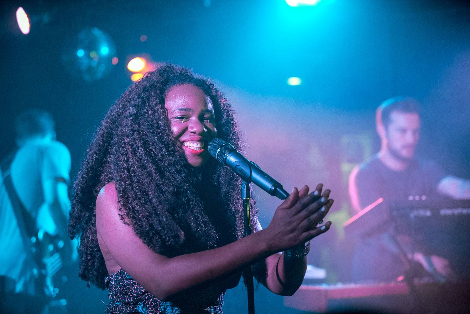 NAO at the Biltmore Cabaret, Vancouver, Sept. 24 2016. Pavel Boiko photo.