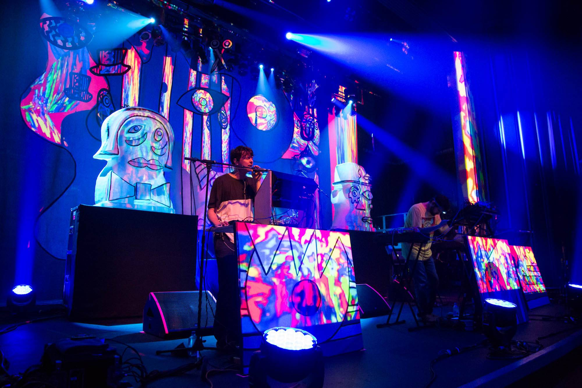 Animal Collective at the Vogue Theatre, Vancouver, Sept. 27 2016. Kirk Chantraine photo.
