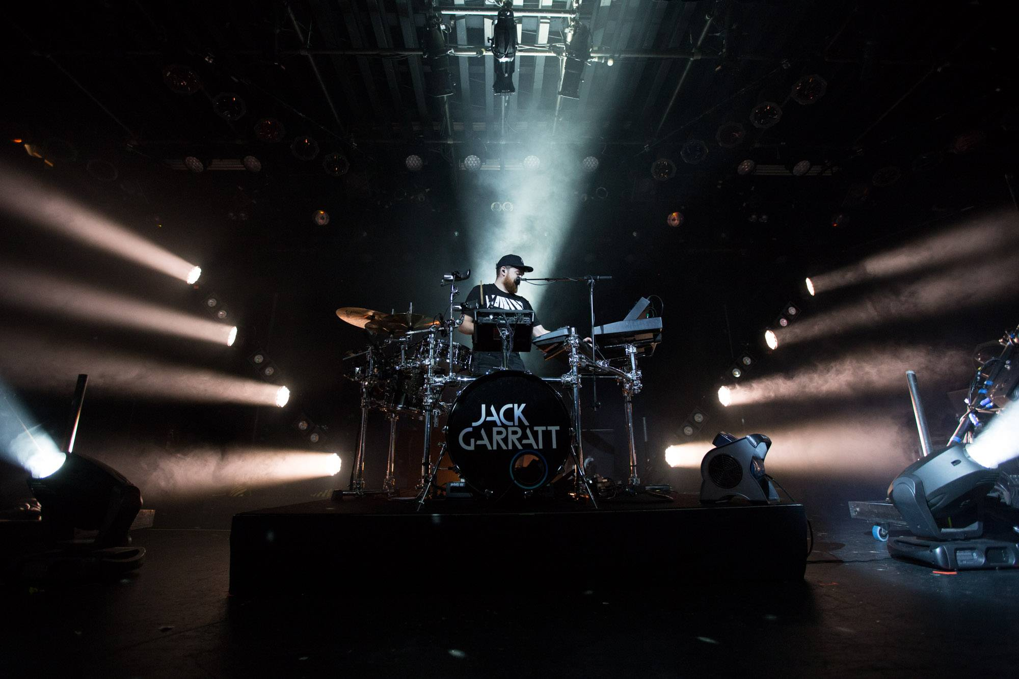 Jack Garratt at the Commodore Ballroom, Vancouver, Sept. 26 2016. Kirk Chantraine photo.