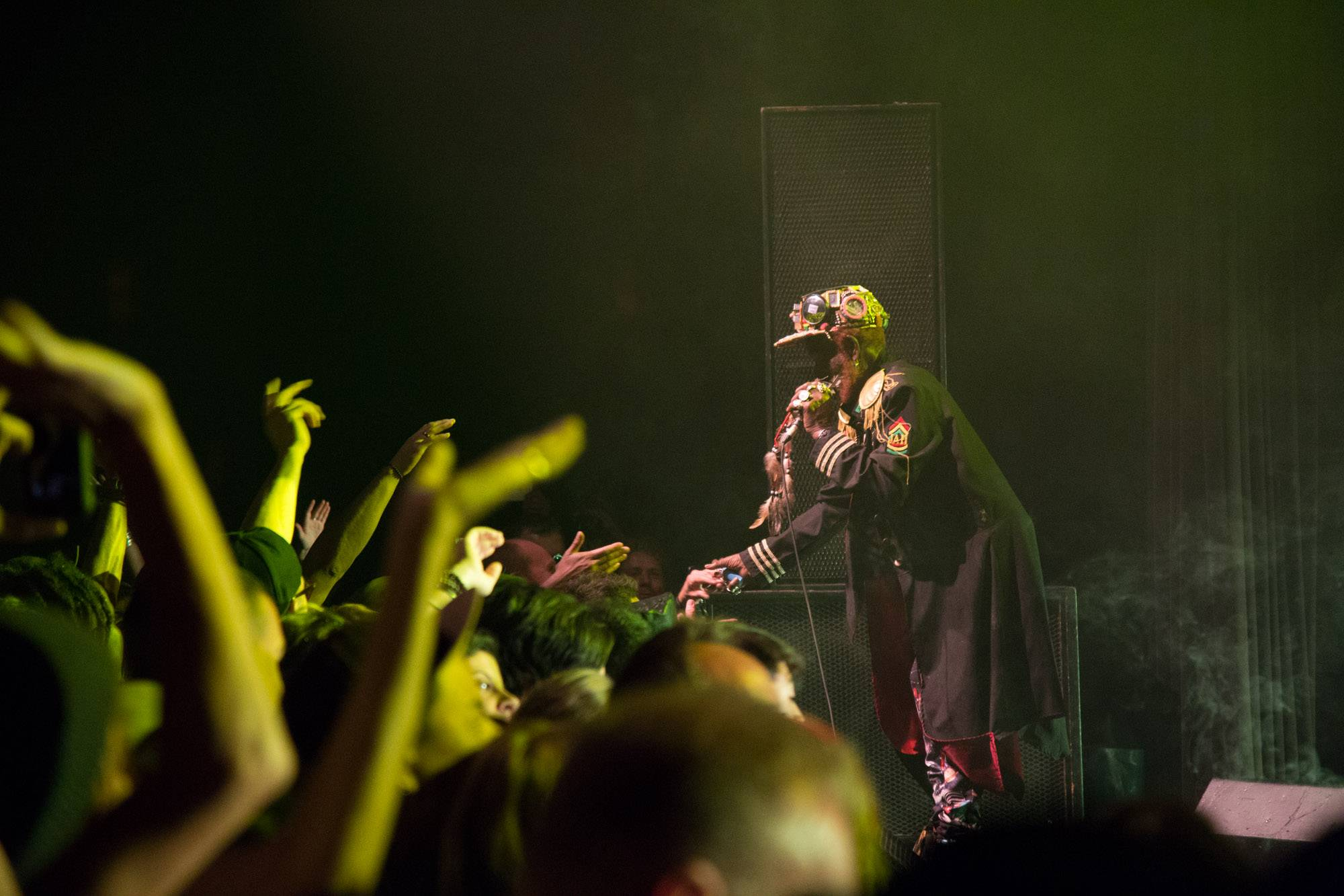 Lee 'Scratch' Perry at the Commodore Ballroom, Vancouver, Sept. 15 2016. Kirk Chantraine photo.