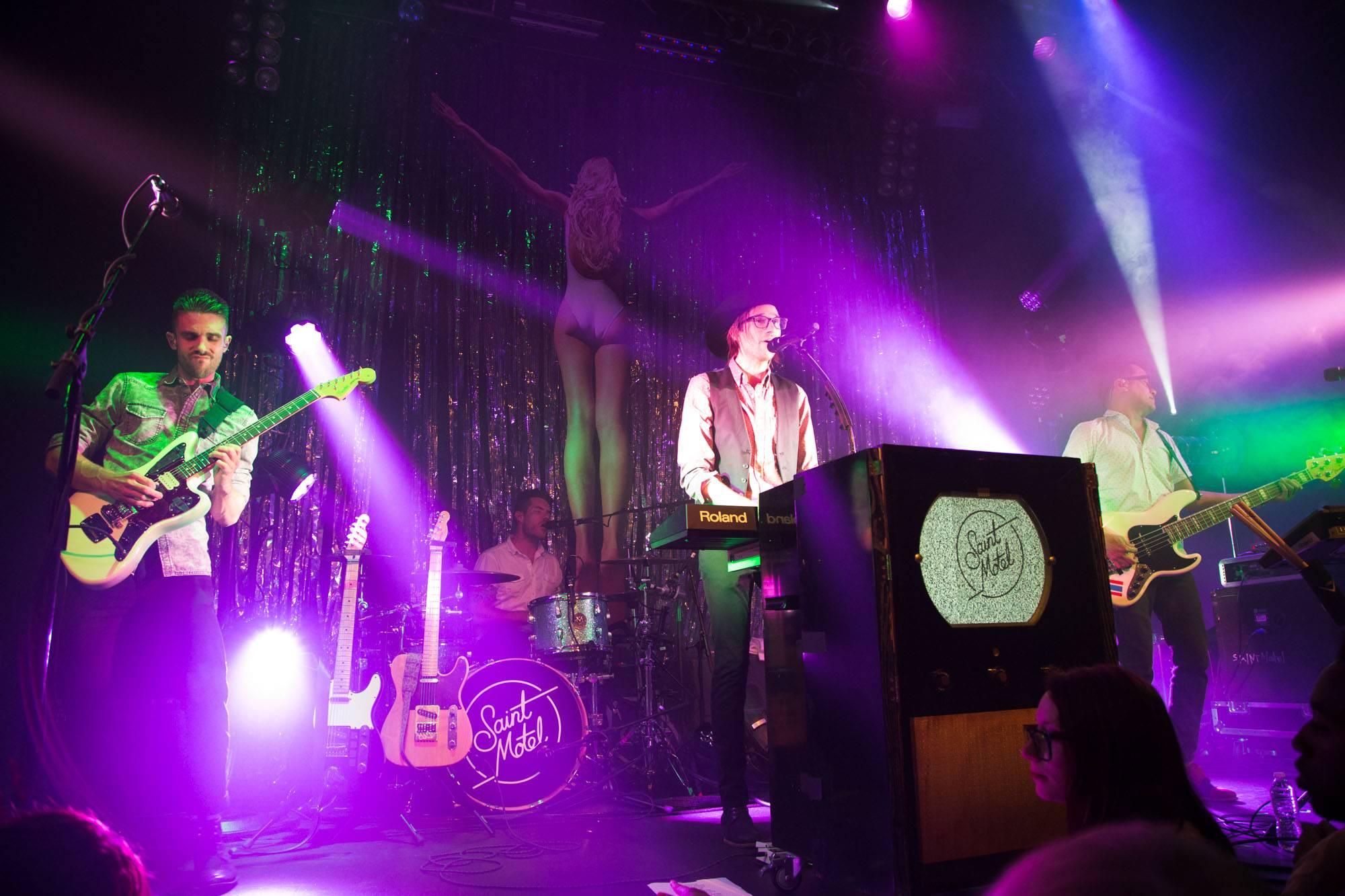 Saint Motel at Venue, Vancouver, Sept. 20 2016. Kirk Chantraine photo.