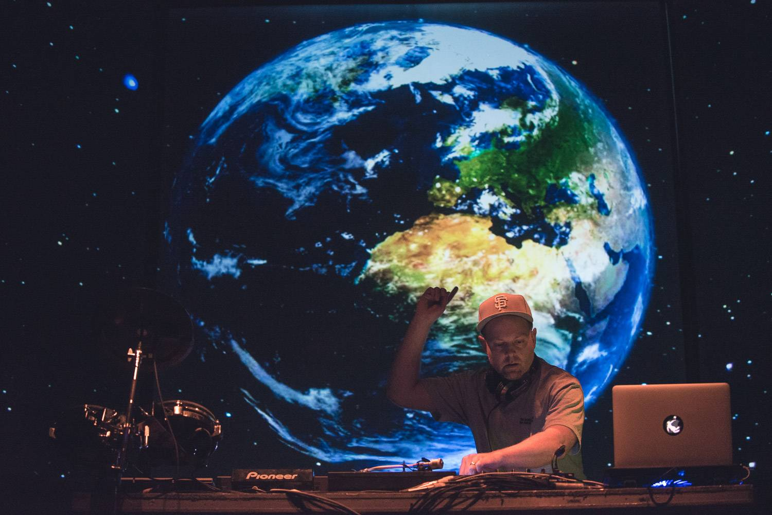DJ Shadow at the Commodore Ballroom, Vancouver, Oct. 2 2016. Pavel Boiko photo.