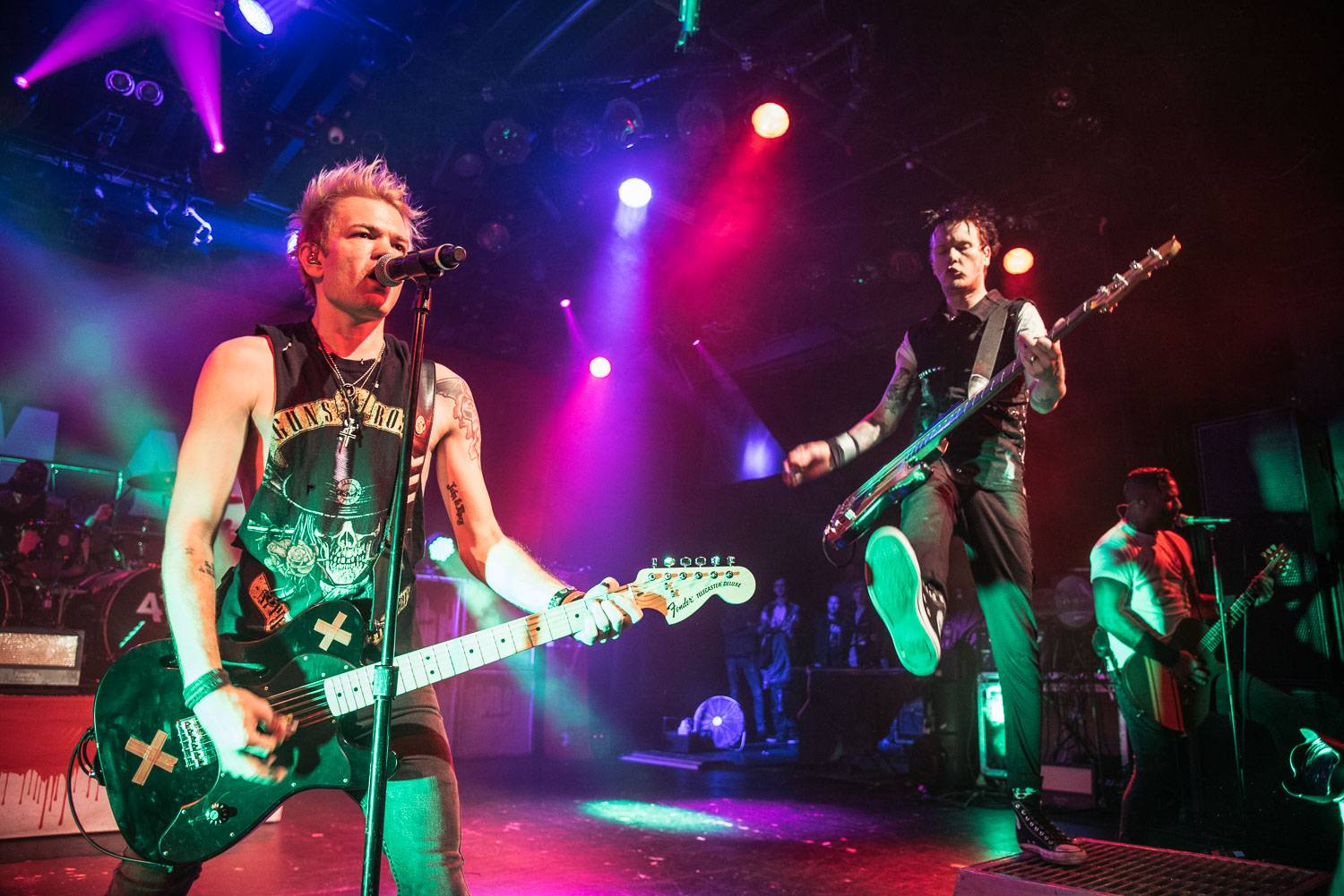 Sum 41 at the Commodore Ballroom, Vancouver, Oct. 28 2016. Pavel Boiko photo