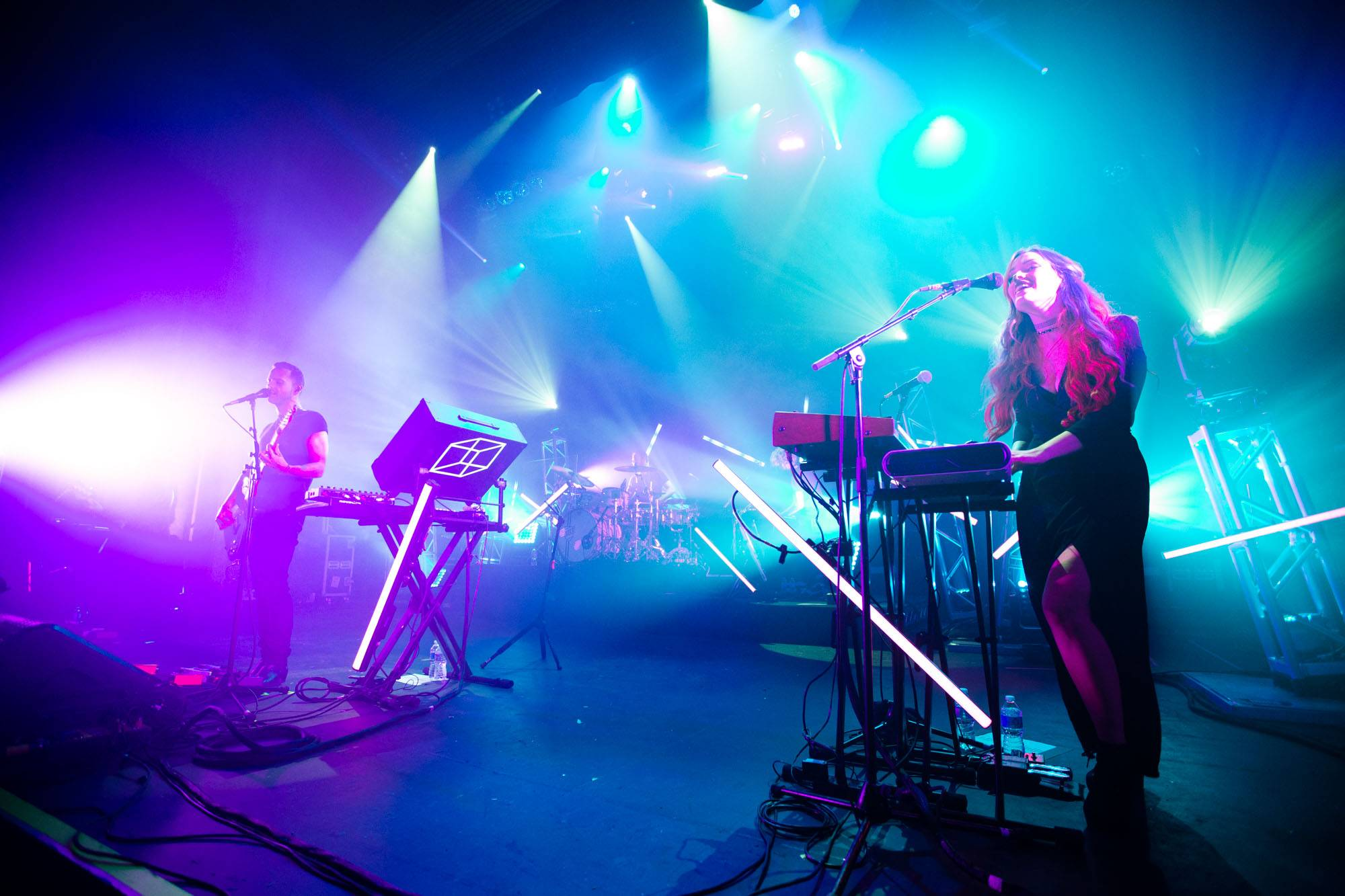 M83 at the Vogue Theatre, Vancouver, Oct. 24 2016. Kirk Chantraine photo.