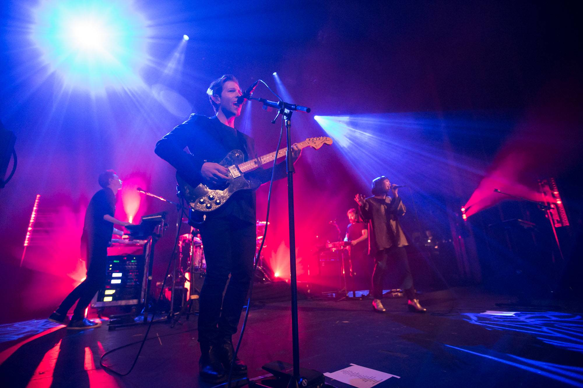 The Naked And Famous at the Vogue Theatre, Vancouver, Oct. 28 2016. Kirk Chantraine photo.
