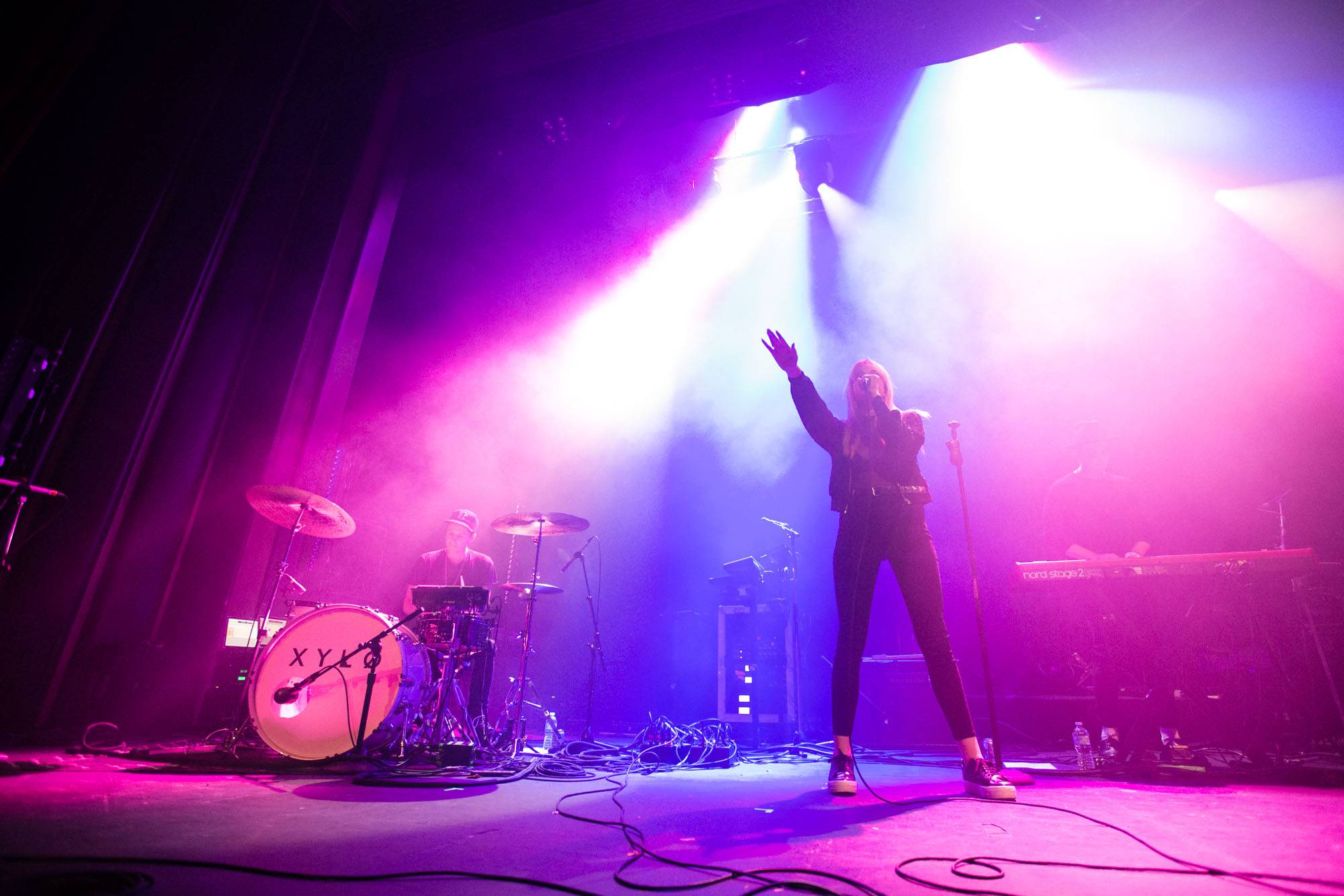 XYLO at the Vogue Theatre, Vancouver, Oct. 28 2016. Kirk Chantraine photo.