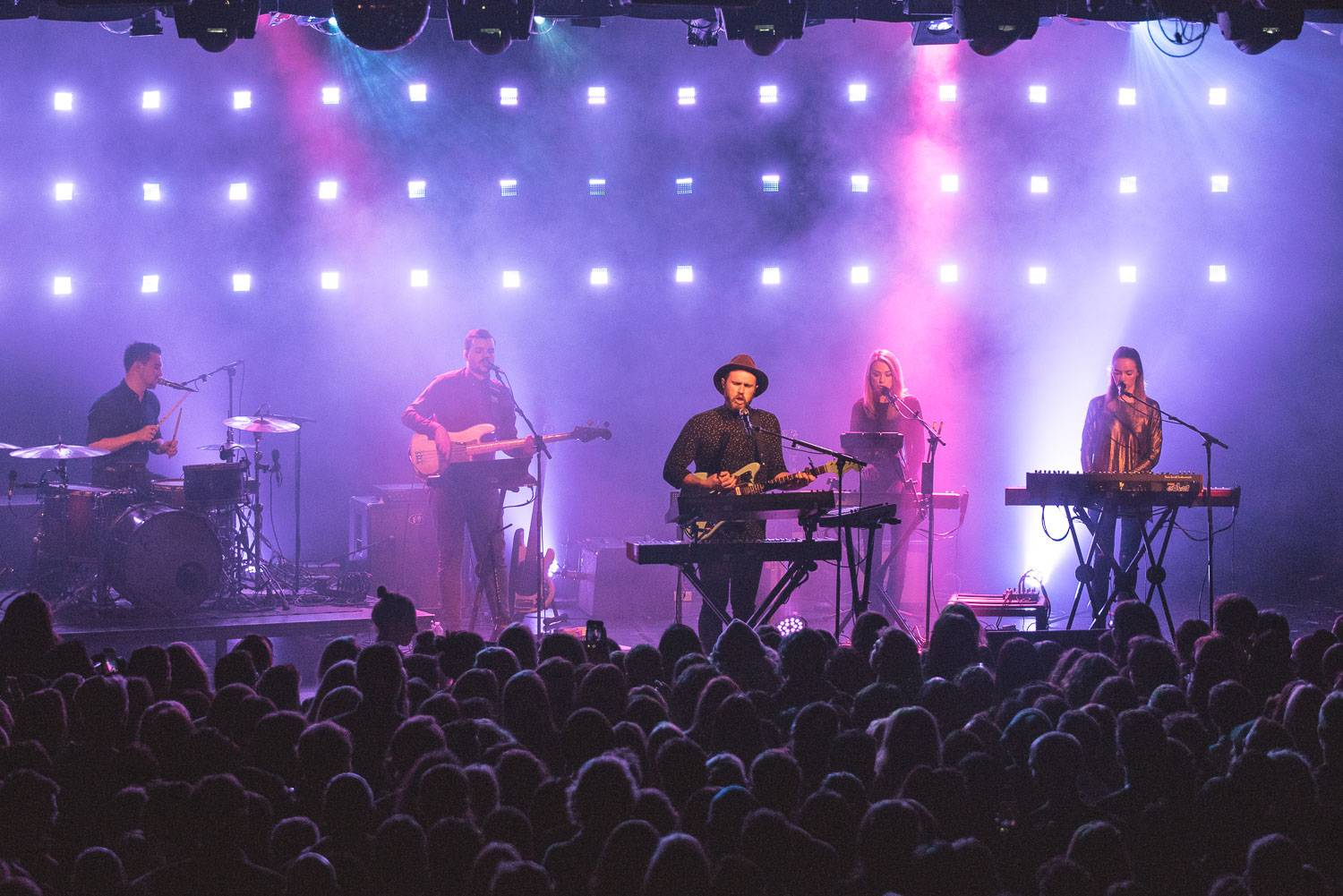 James Vincent McMorrow at the Commodore Ballroom, Vancouver, Nov.24 2016. Pavel Boiko photo.