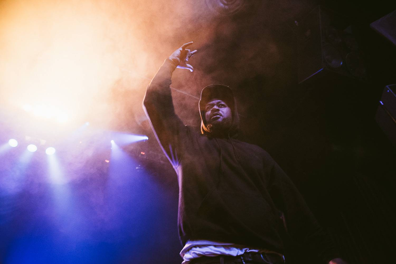 Ghostface Killah at the Rickshaw Theatre, Vancouver, Feb. 27 2017. Pavel Boiko photo.
