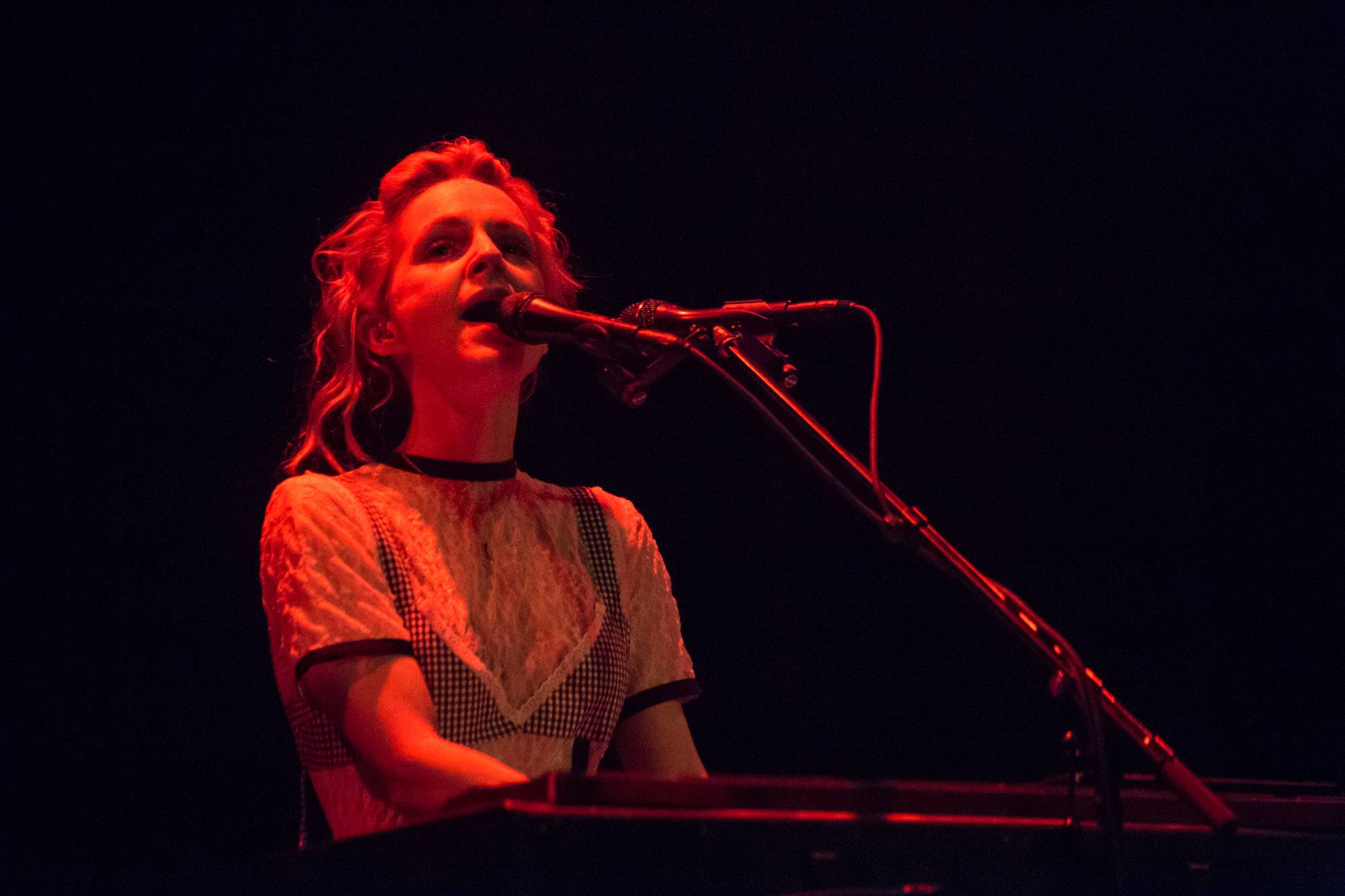 Agnes Obel at the Imperial Theatre, Vancouver, Mar. 25 2017. Kirk Chantraine photo.
